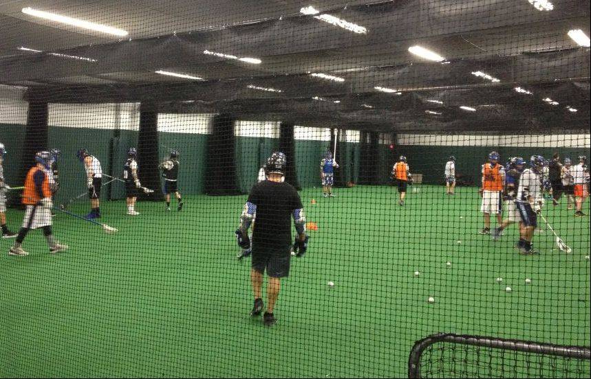 Among the offerings at Tri-City Teamworks is indoor lacrosse.
