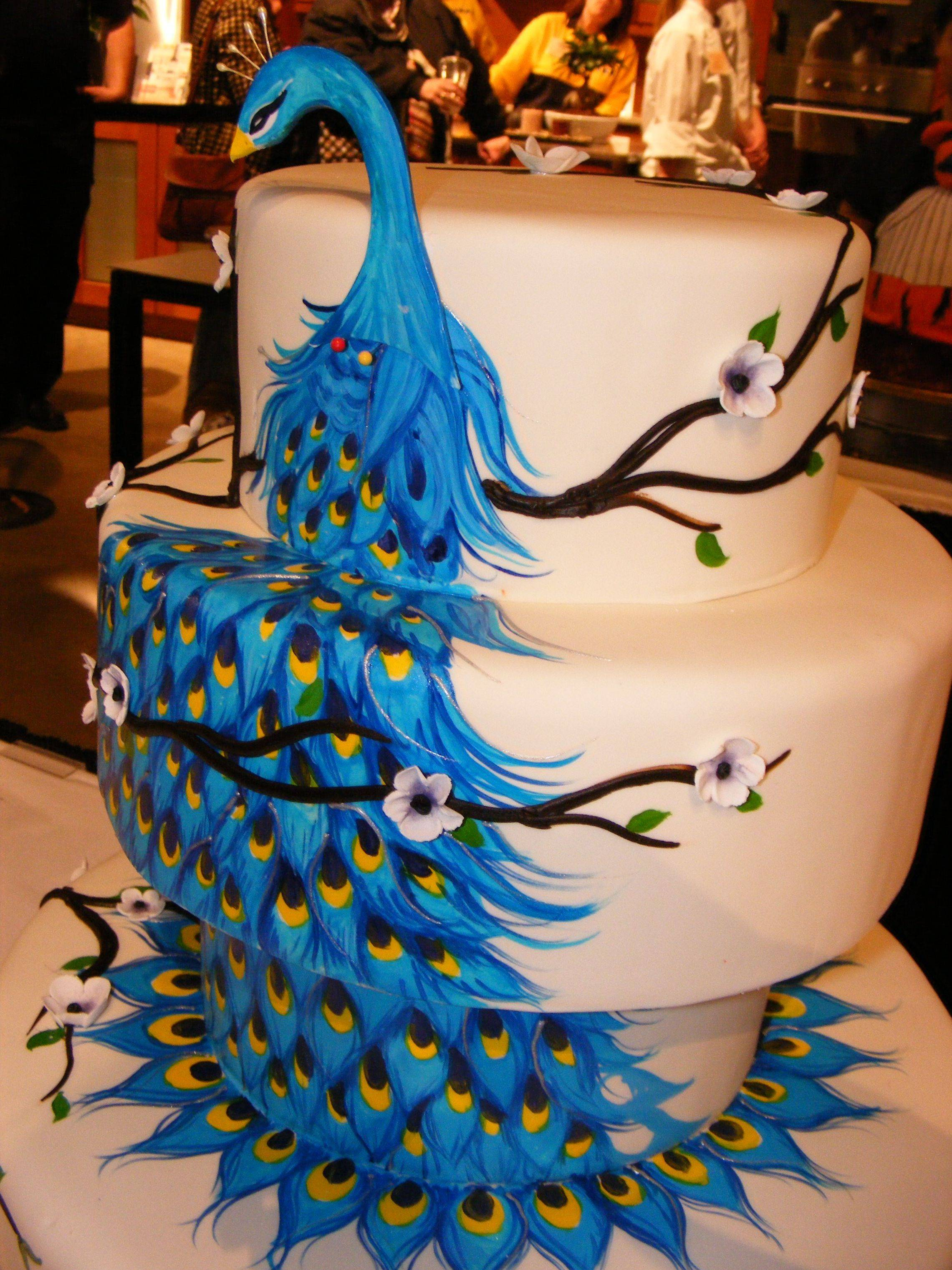 Dina Cimarusti of Alliance Bakery won CARBA's 2011 cake competition with this fanciful creation.