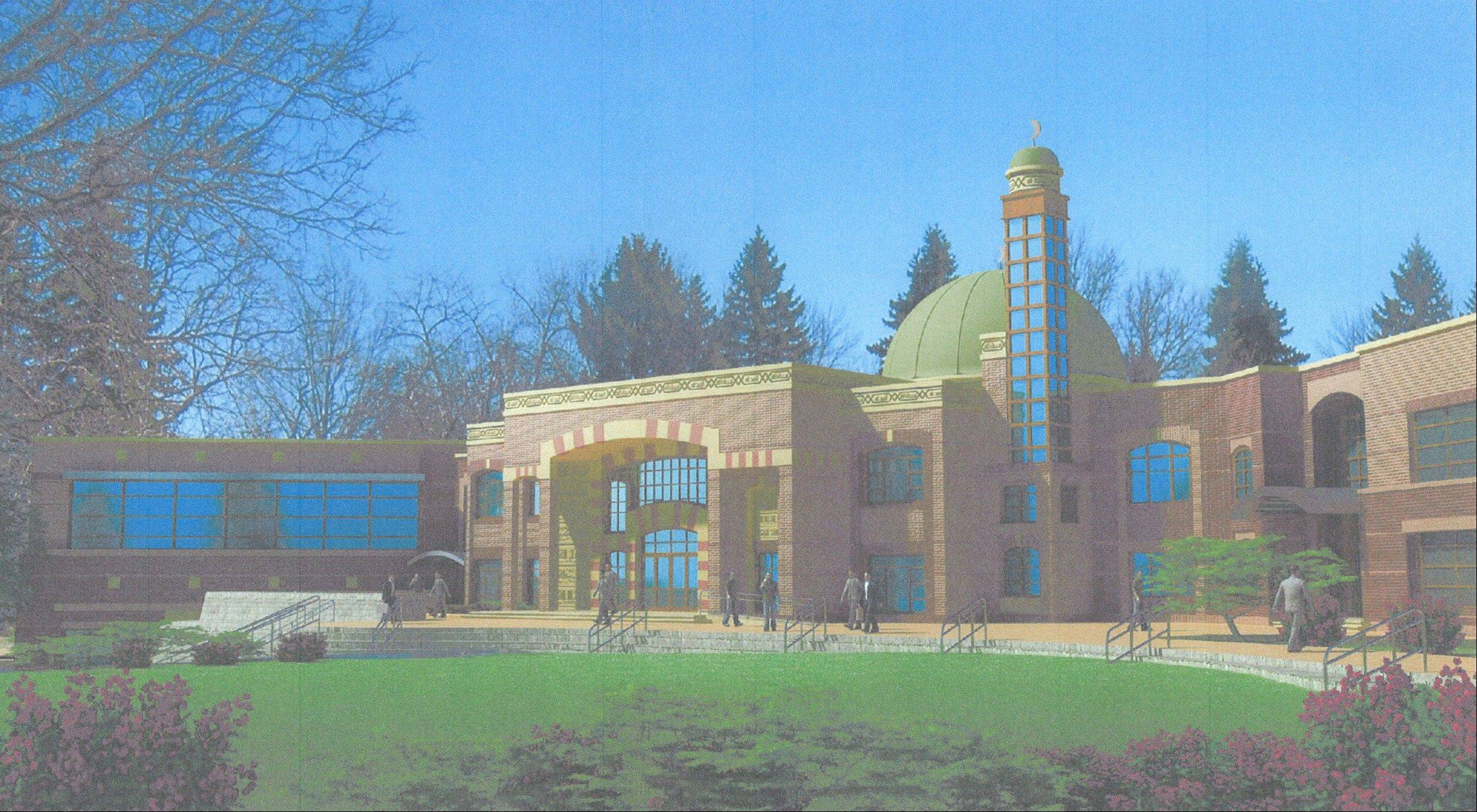Muslim Educational and Cultural Center of America won't be allowed to exceed a DuPage County height restriction when it builds a mosque near Willowbrook.