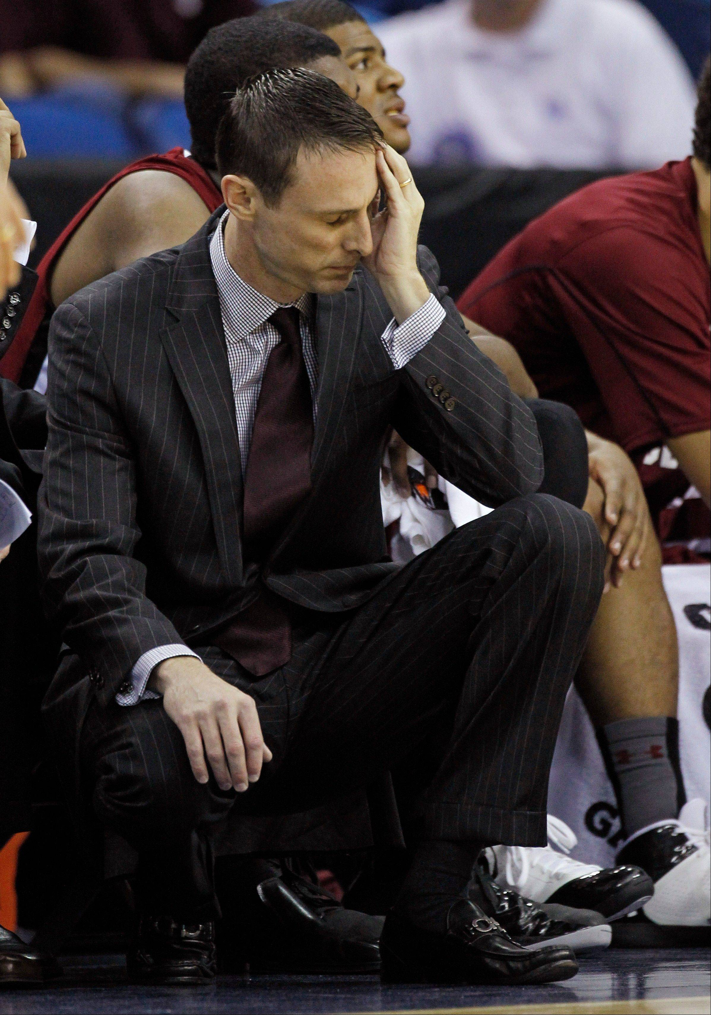 A person familiar with the decision says South Carolina has fired men's basketball coach Darrin Horn after the Gamecocks' disappointing season in the Southeastern Conference. The person spoke to The Associated Press on condition of anonymity because no public announcement has been made.