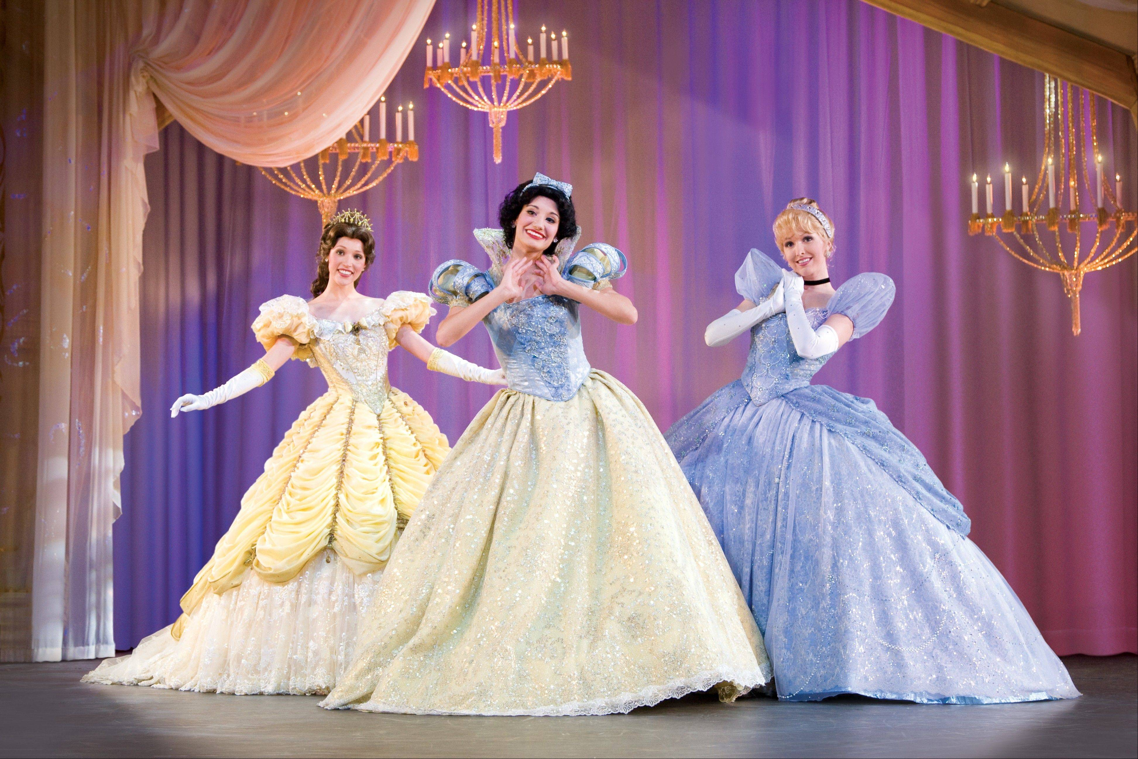 "The tales of ""Beauty and the Beast,"" ""Snow White"" and ""Cinderella"" comprise ""Disney Live! presents Three Classic Fairy T"
