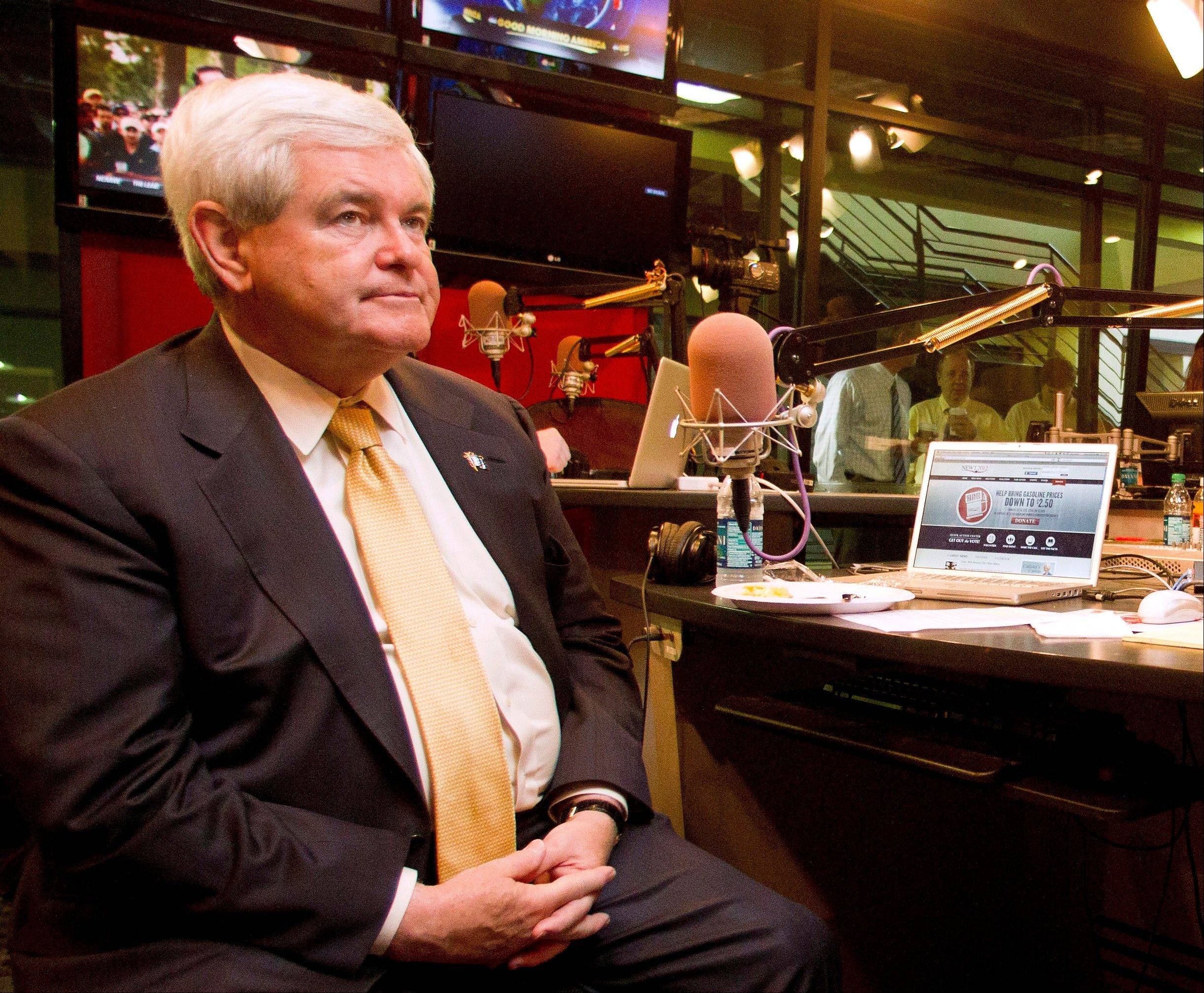 Presidential candidate, former House Speaker Newt Gingrich is schedule to speak Thursday at Judson College in Elgin.