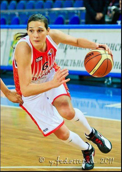 Sonja Petrovik of Serbia, a 23-year-old forward, is the newest member of the Chicago Sky.