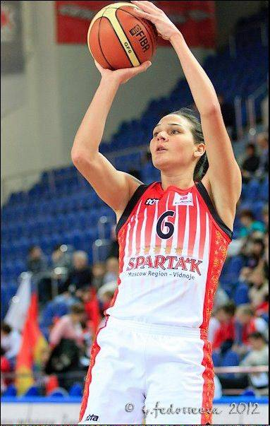 A 6-foot-4 forward, Sonja Petrovik of Serbia can also shoot from the 3-point line. The Sky acquired Petrovik Wednesday from San Antonio.