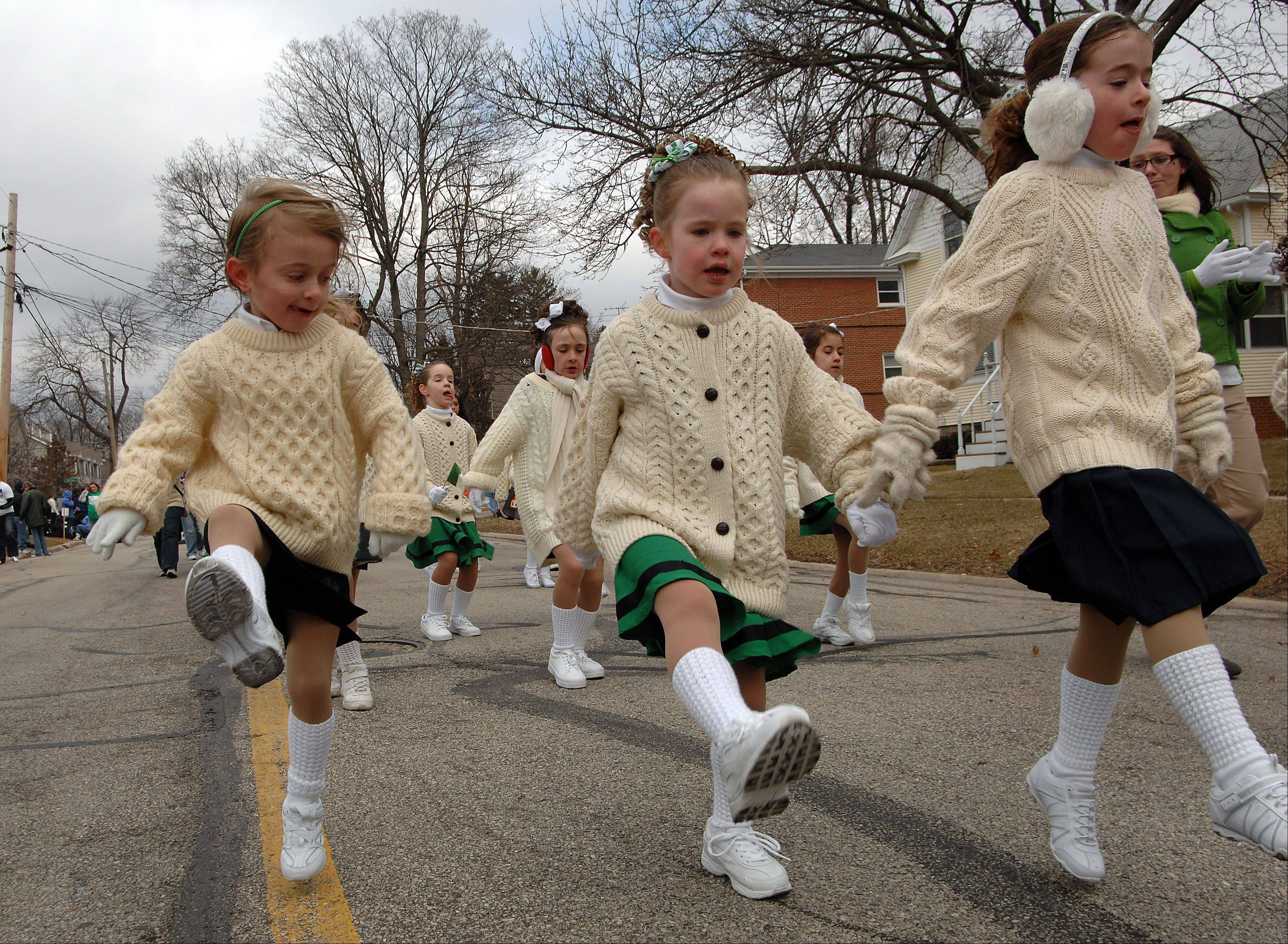 "Irish dancers will help Palatine ""Paint the Town Green"" for St. Patrick's Day."