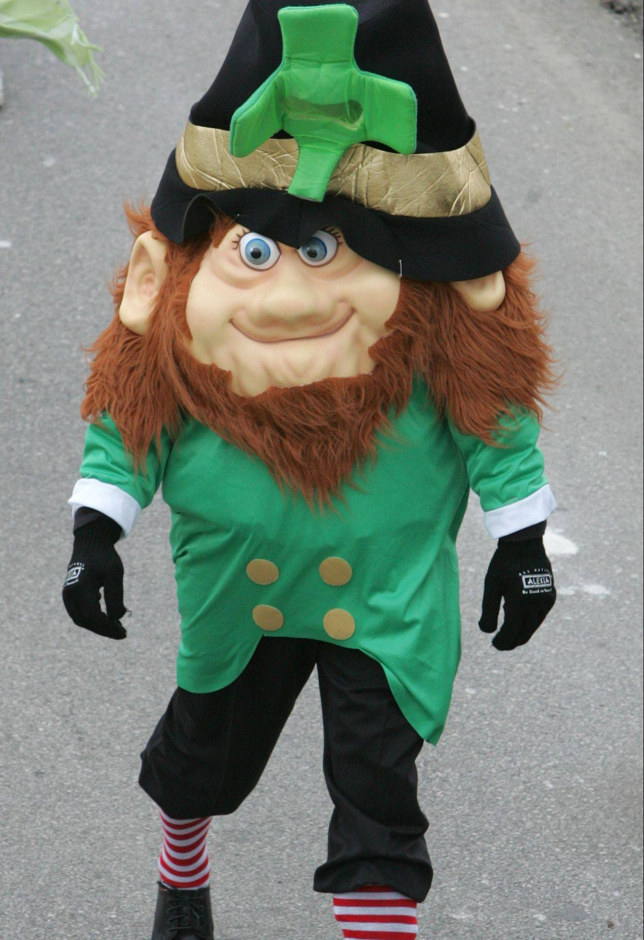 Naperville is home to its own St. Patrick's Day Parade.