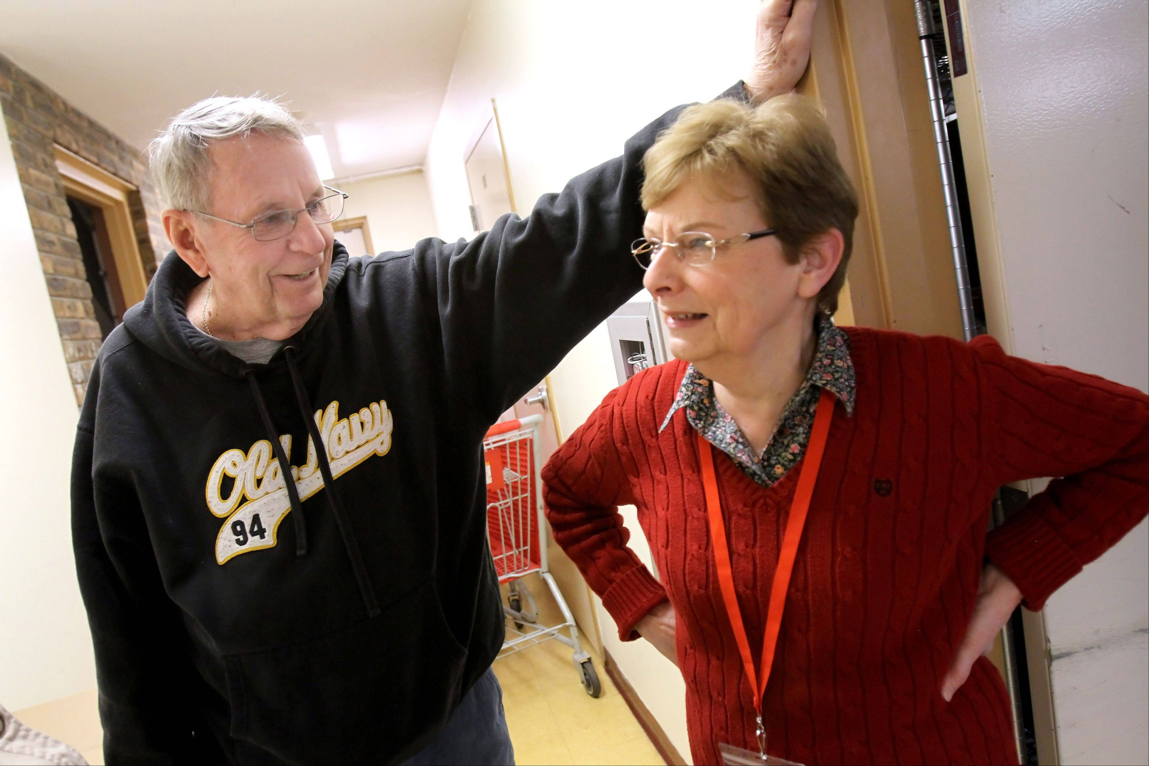 Don McGowan met his second wife, Mary Leah Prazak, while volunteering at the People's Resource Center in Wheaton.