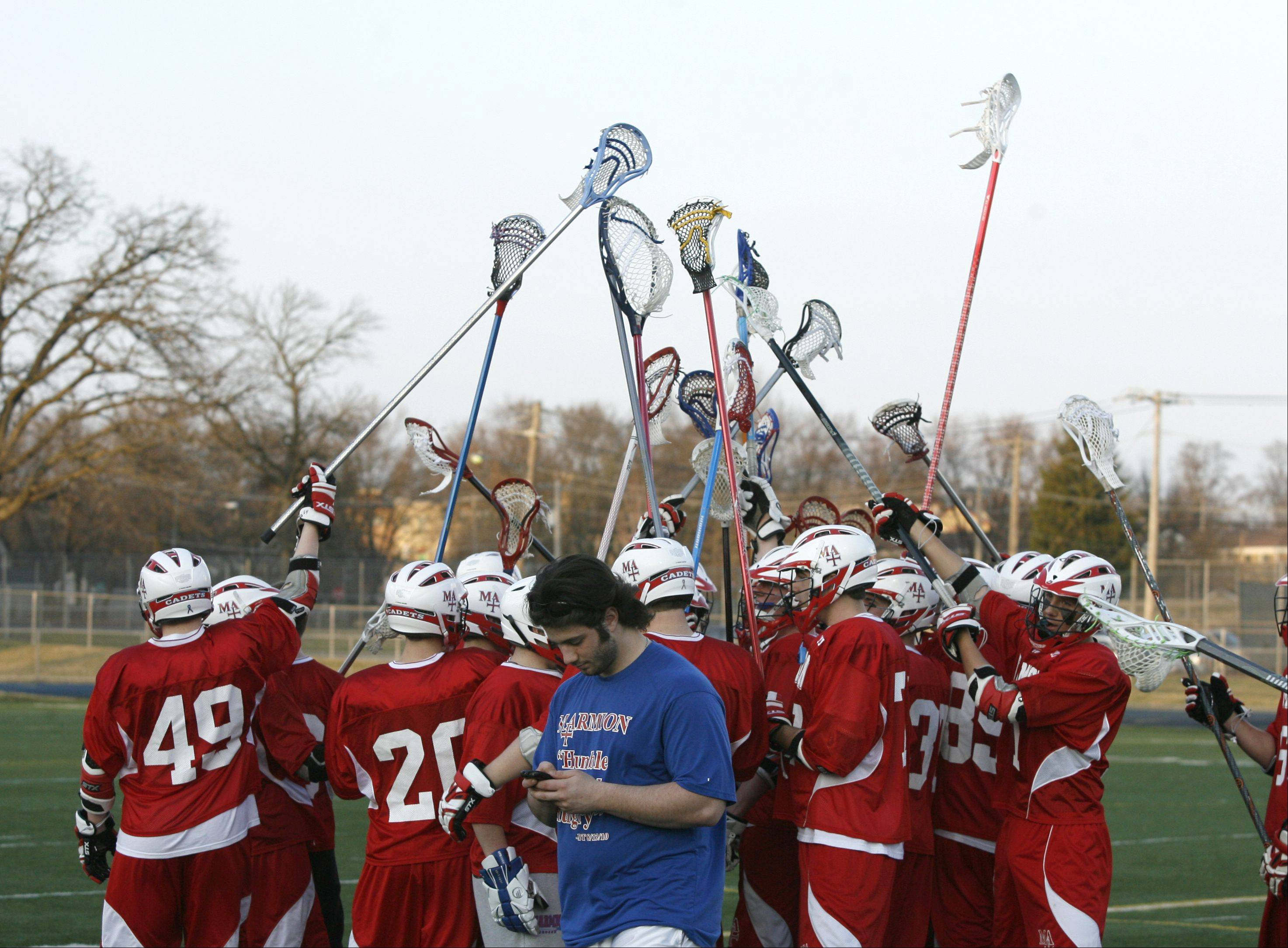 West Chicago hosts Marmion Academy Friday for boys lacrosse.
