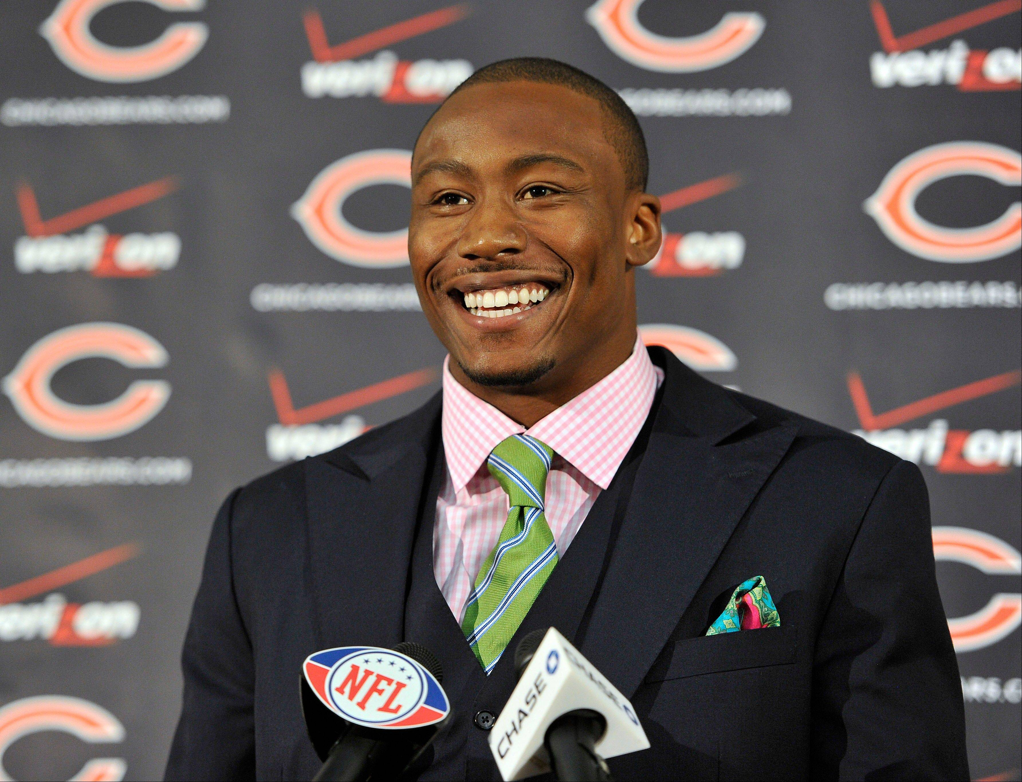 New Chicago Bears wide receiver Brandon Marshall says he wants to be an assets to the Bears on and off the field, and he believes the help he has received toward his Borderline Personality Disorder will help that to happen.