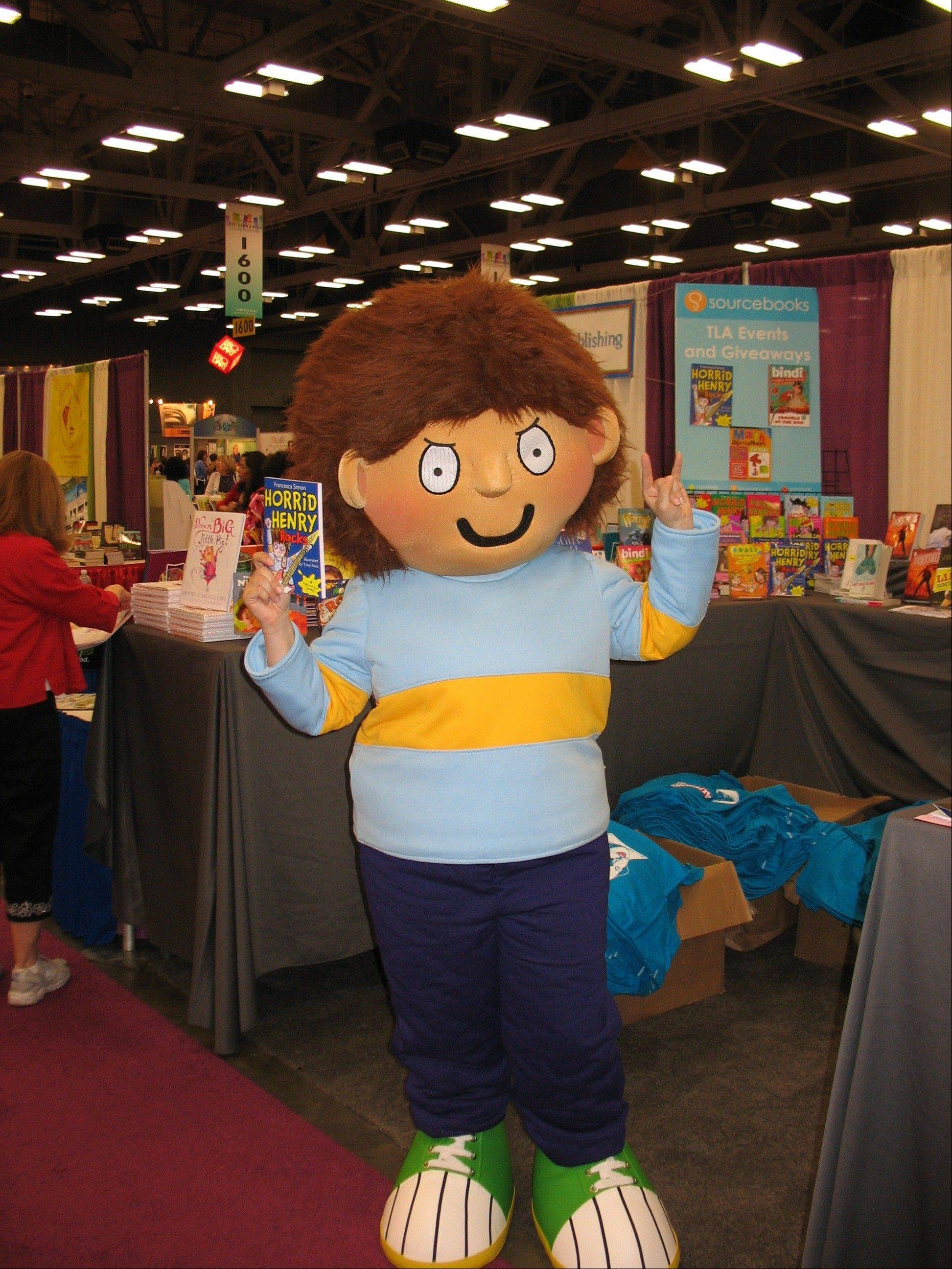 "April Fools' Day visitors to Anderson's Bookshop in Naperville will get a chance to meet Horrid Henry and participate in ""The Great Whoop Off."""