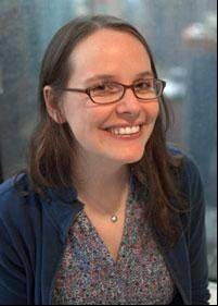 Raina Telgemeier, author and illustrator.
