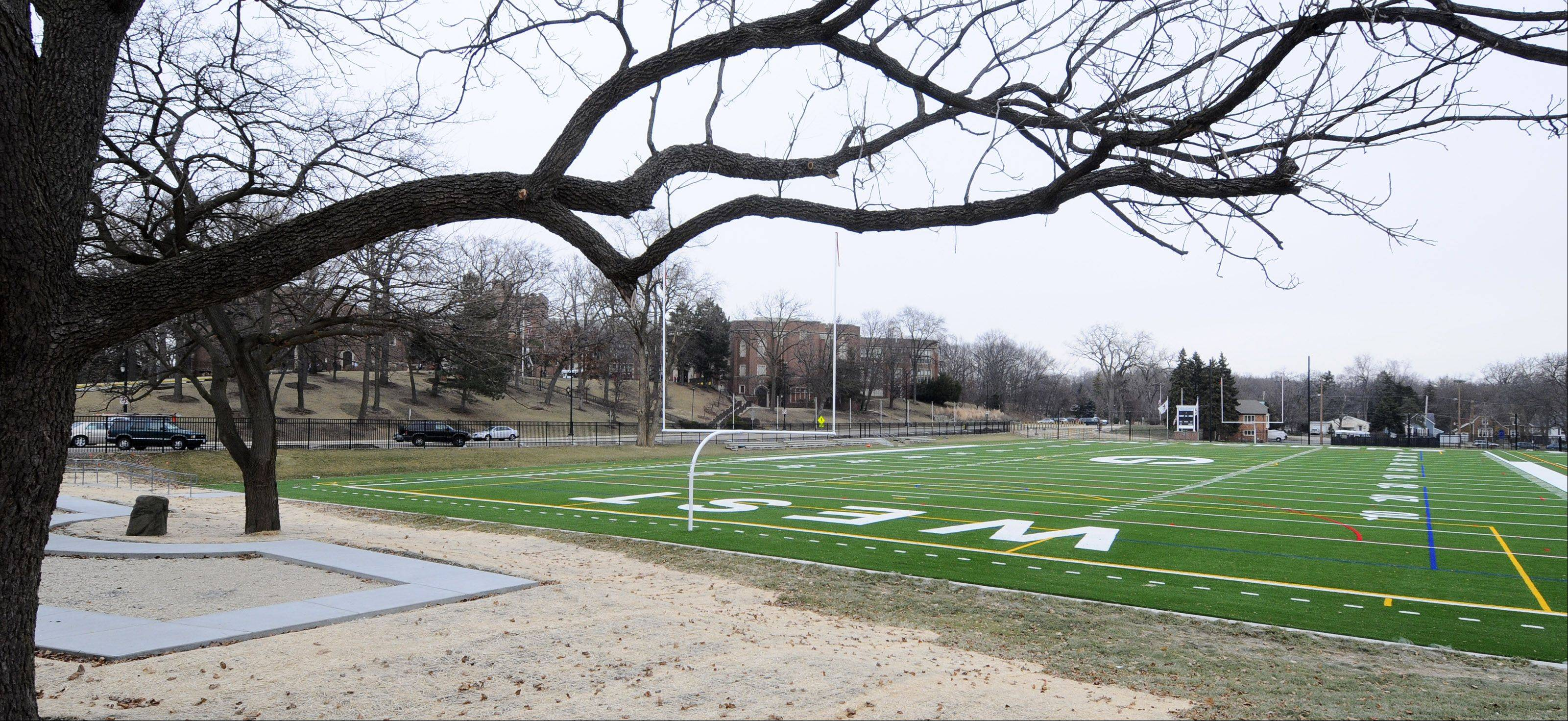 Glen Ellyn voters strongly support allowing Glenbard High School District 87 to install lights at Memorial Field, across from Glenbard West High School.