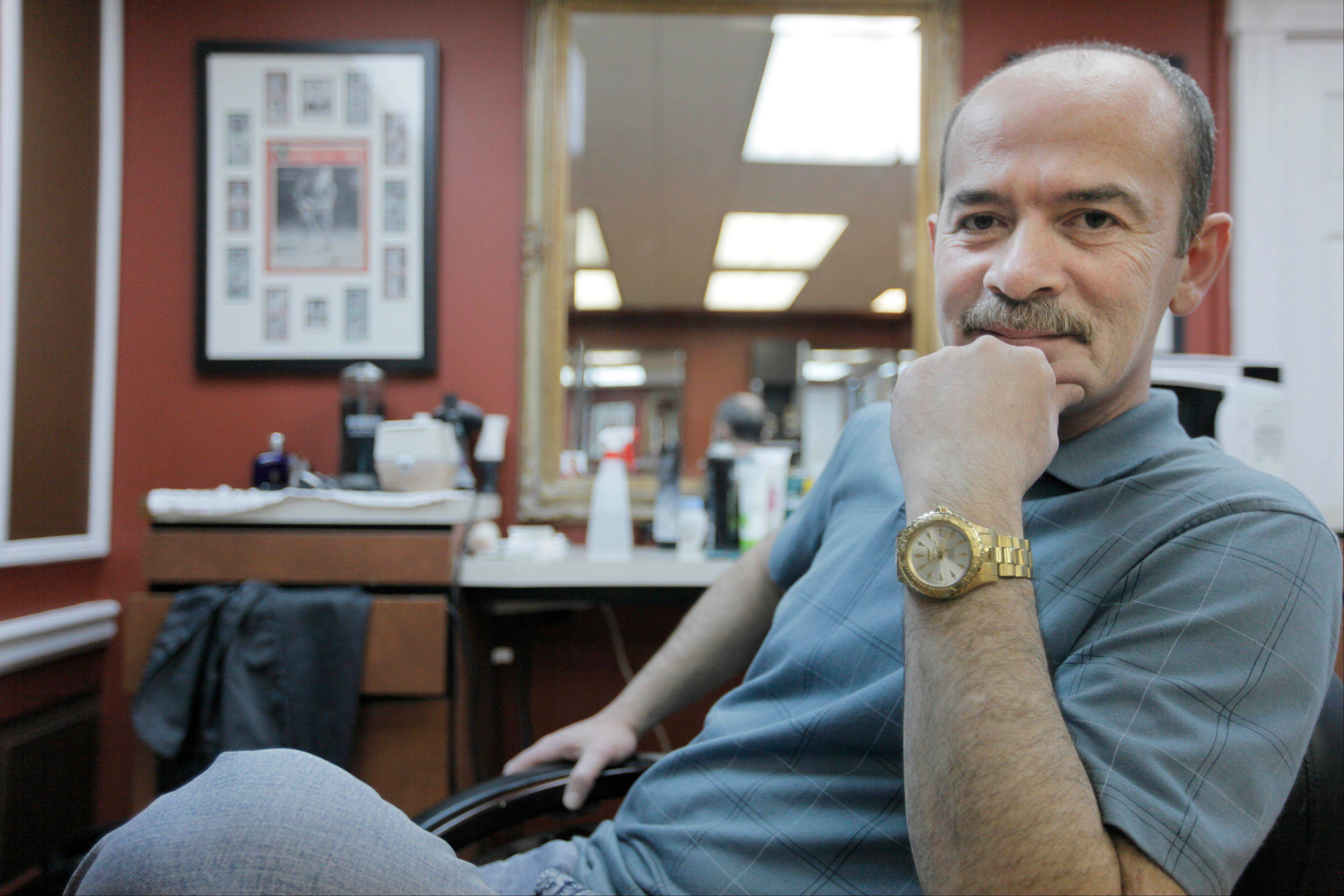 Chicago barber Peter Vodovoz cared for former Gov. Rod Blagojevich's coif for more than 20 years.