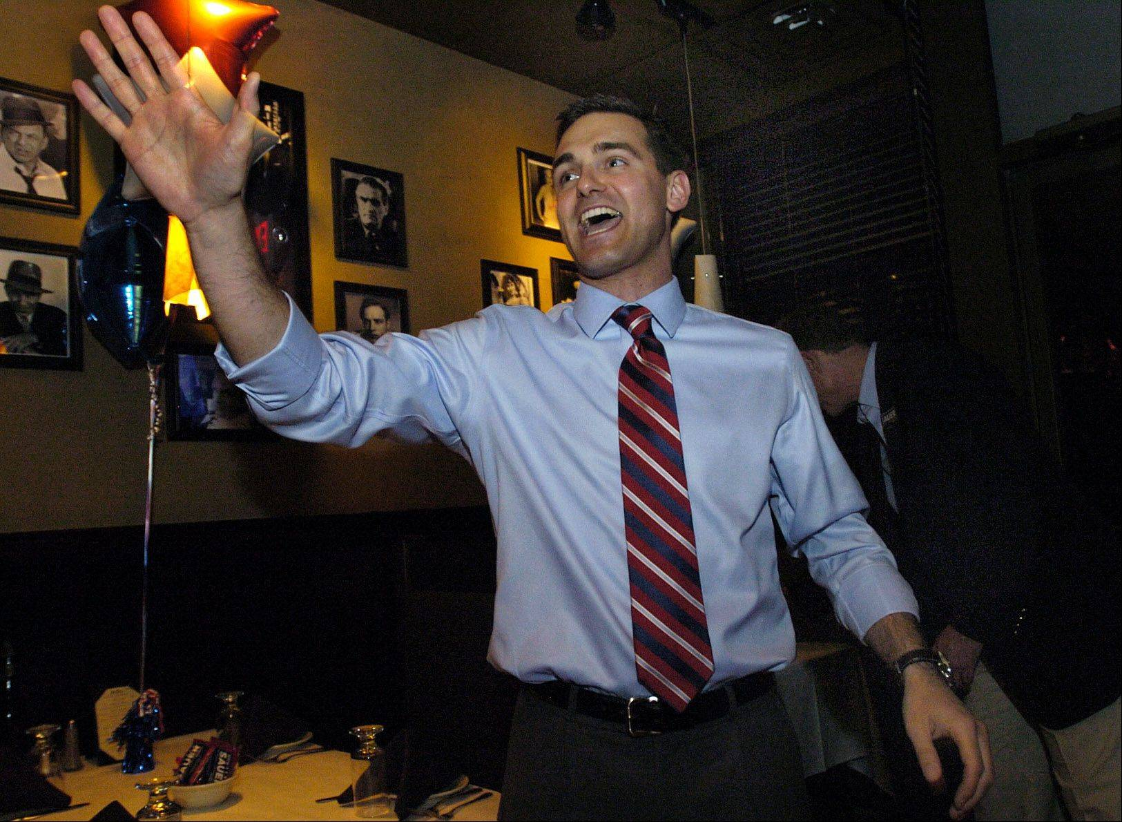 Lake County Board District 17 candidate Nick Sauer thanks his followers.