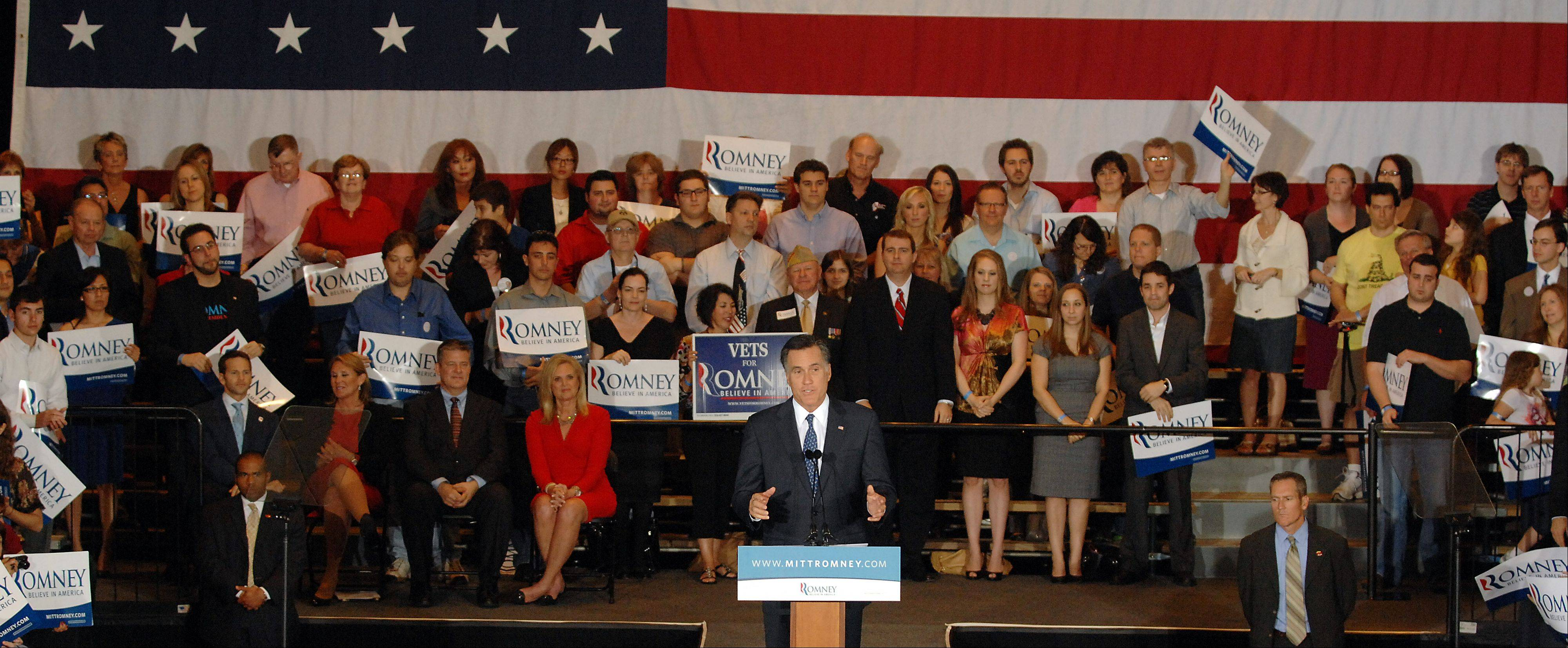 Romney stay a boon for Schaumburg Renaissance