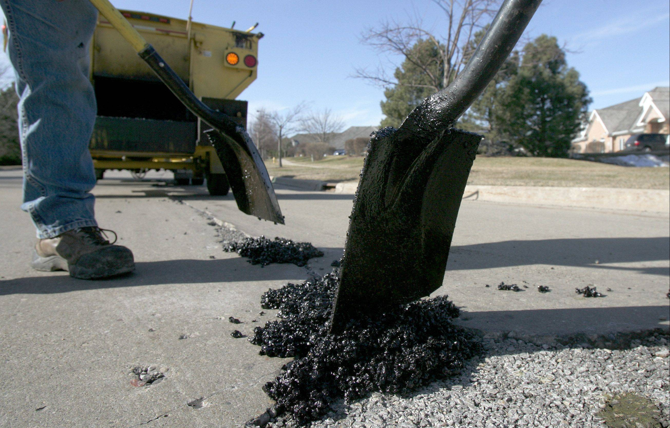 Libertyville voters on Tuesday approved a property tax increase to allow th village to borrow money to fix roads.