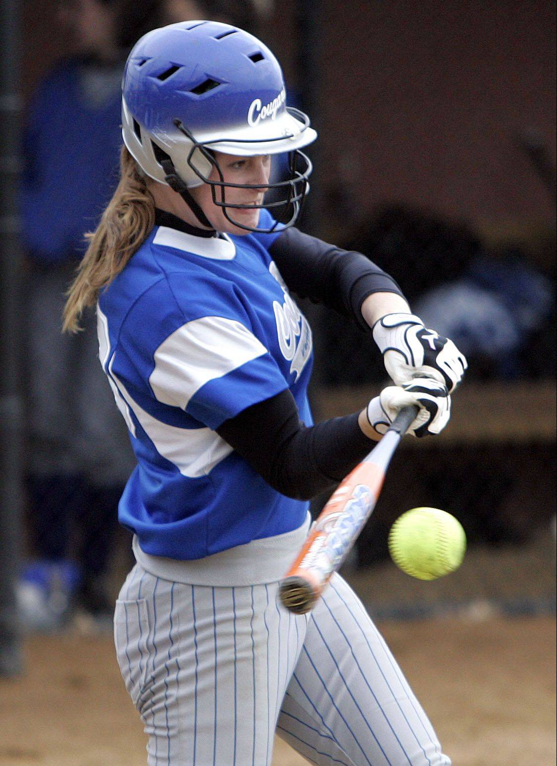 Vernon Hills senior Megan Meline is looking for a sweet finish to a busy senior sporting year.