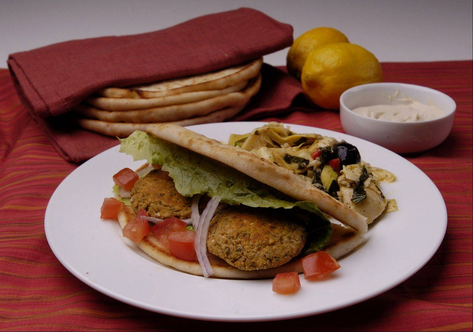 A short clip on the Disney Channel inspired Jerome Gabriel to try falafel. The chickpea patties are a staple of Middle Eastern cuisines.