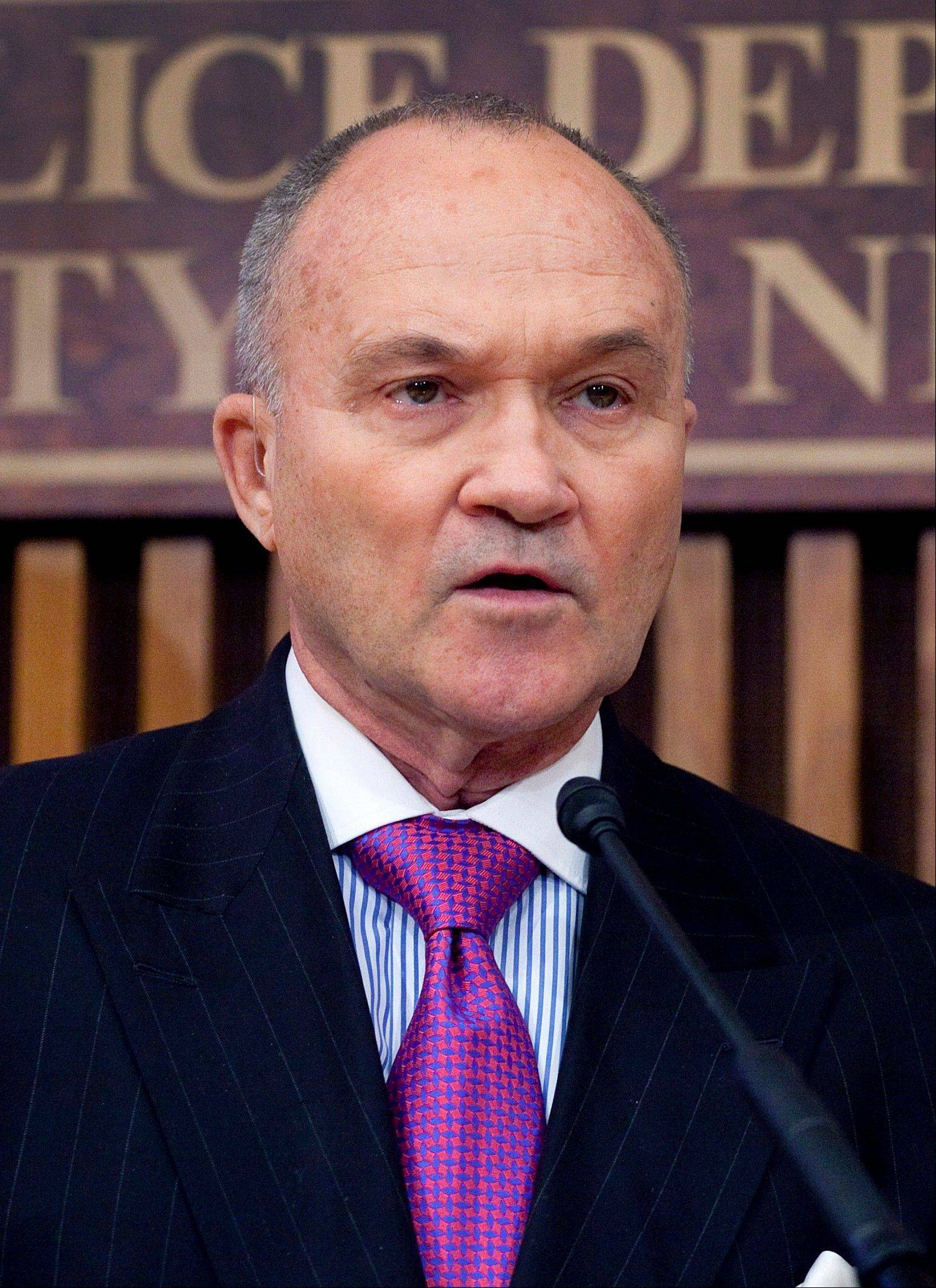 New York Police Commissioner Raymond Kelly