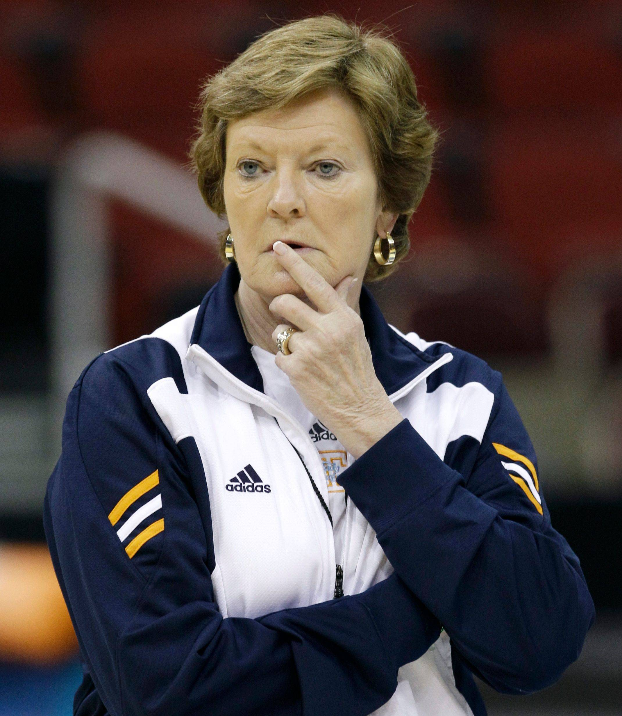 Tennessee coach Pat Summitt hasn't been herself this season, and many fans are asking her to retire.
