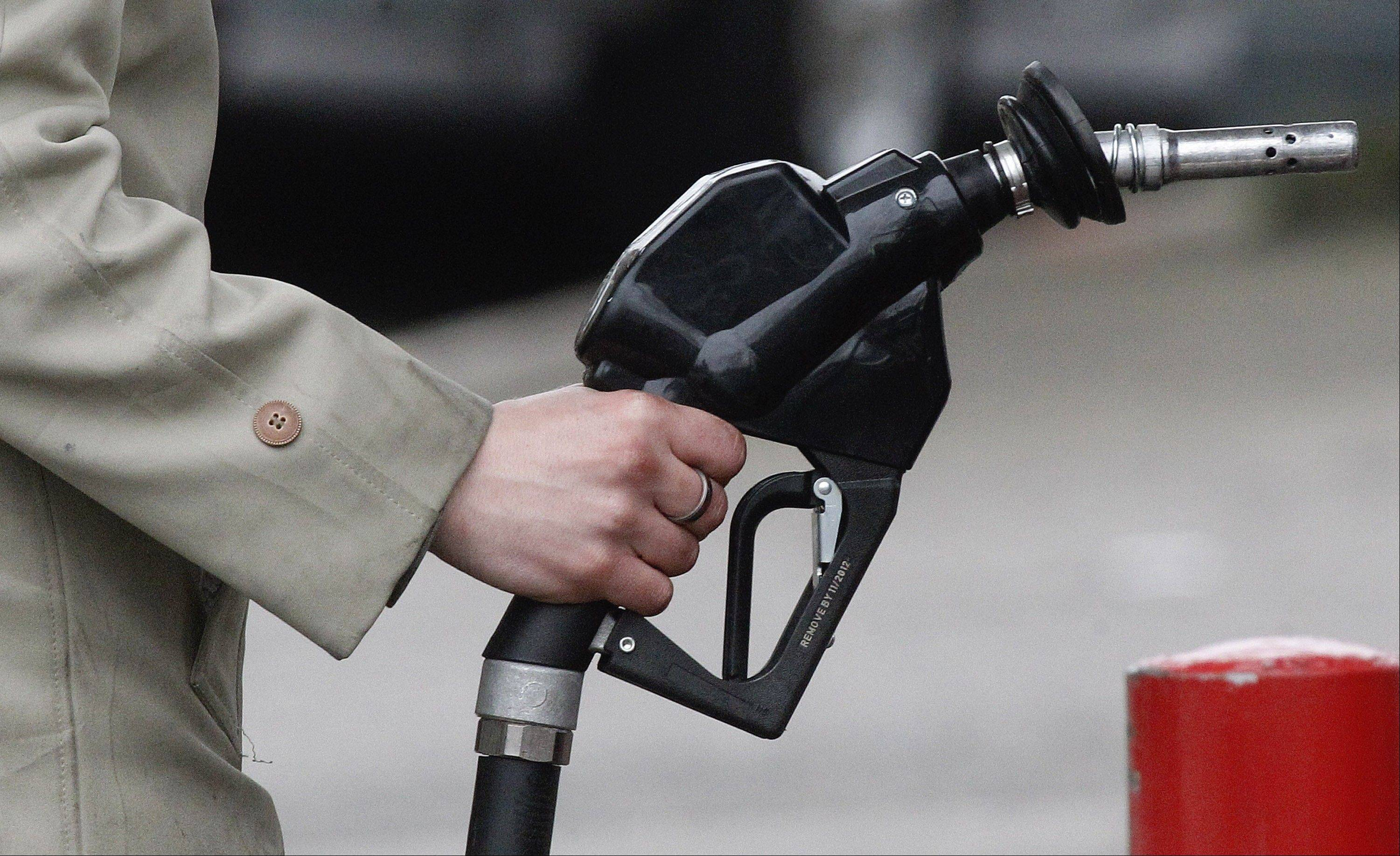 According to AAA's Fuel Gauge Report, the average price for regular unleaded gas Thursday in the Chicago metropolitan region was $4.45 per gallon. It was nearly a dollar less per gallon a month ago.