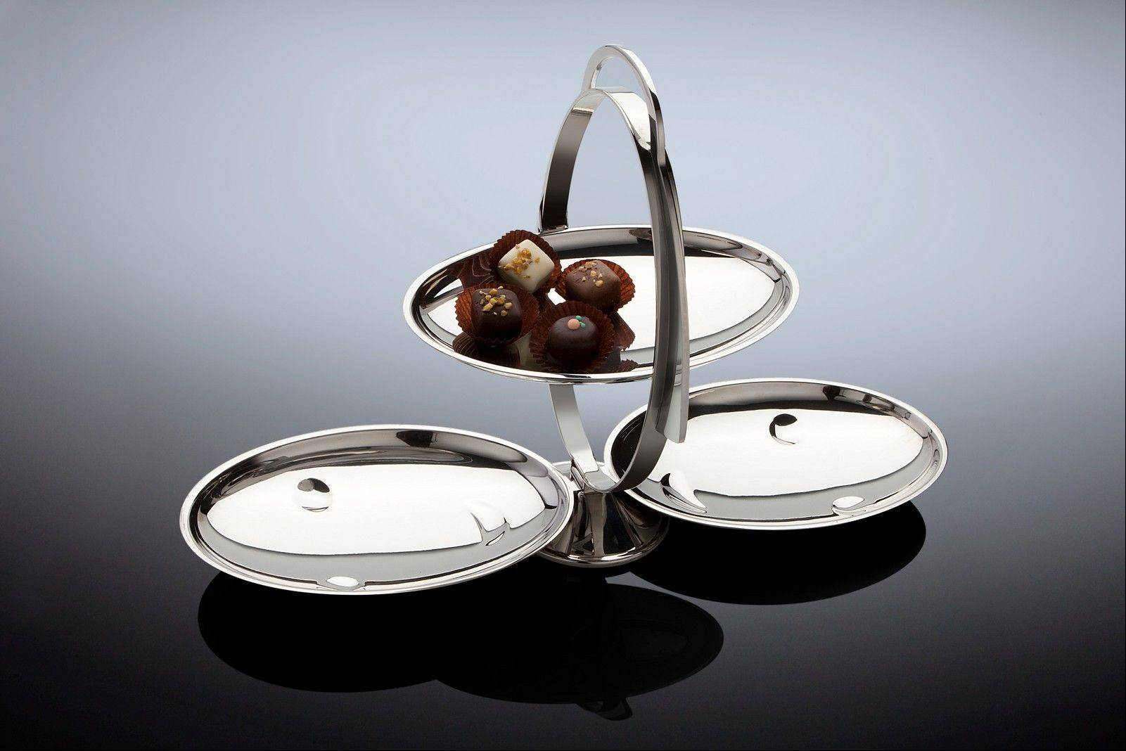 The Anna Gong cake, candy or cookie plate is a new Alessi product.