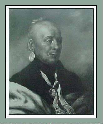 Potawatomi Chief Waubonsie, whose name was, and still is, spelled in a variety of ways.