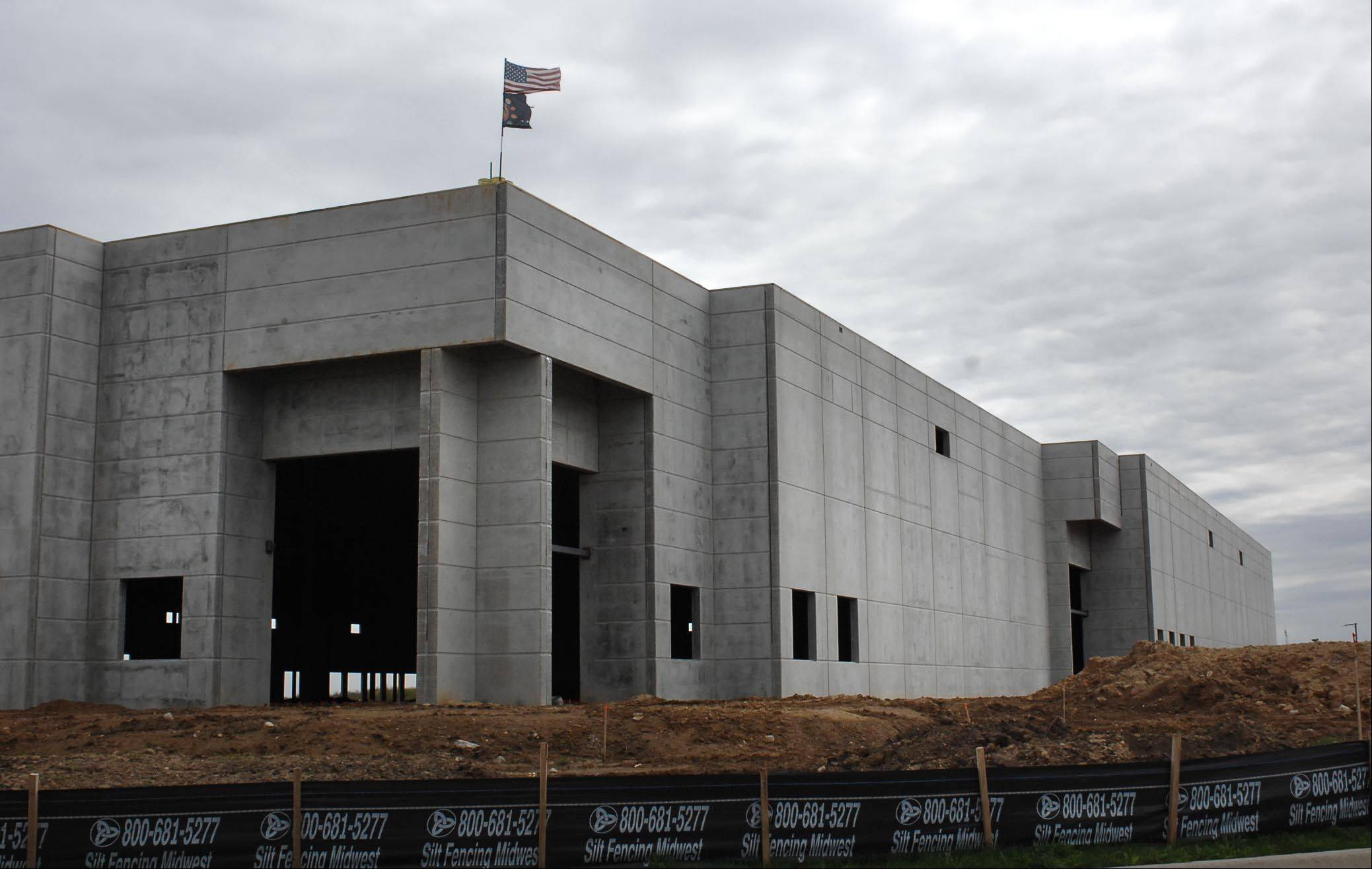 The Nationwide Freight Systems building is under construction near Randall and Big Timber in Elgin. The company specializes in third party logistics and transportation.