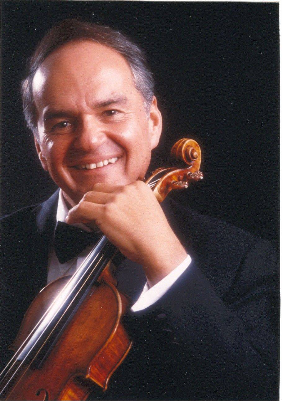 Conductor and violinist Jaime Laredo will perform with the Elgin Symphony Orchestra at the Hemmens Cultural Center in Elgin.