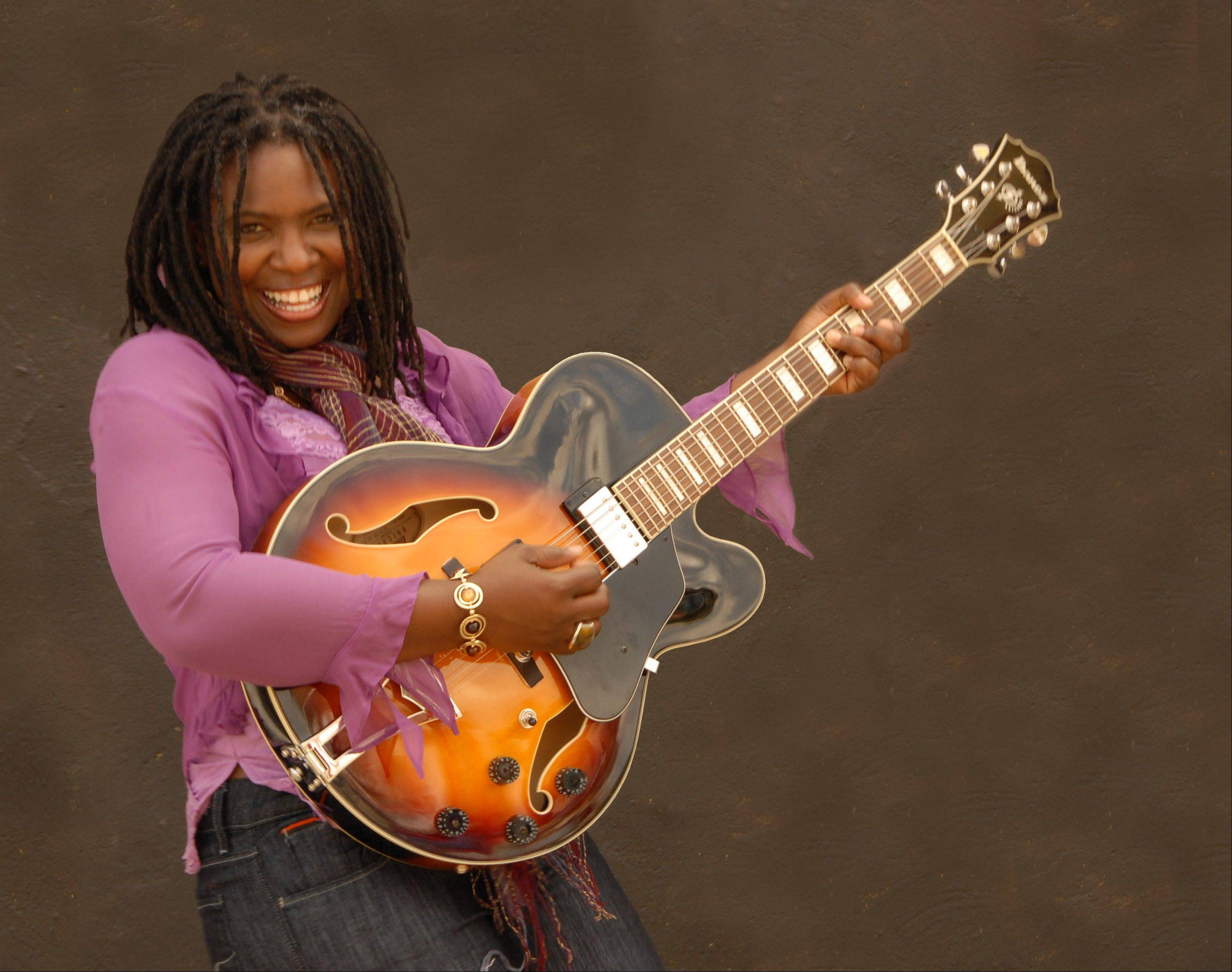 Blues guitarist and vocalist Ruthie Foster teams up with Paul Thorn for Soul Salvation at the Prairie Center for the Arts in Schaumburg.