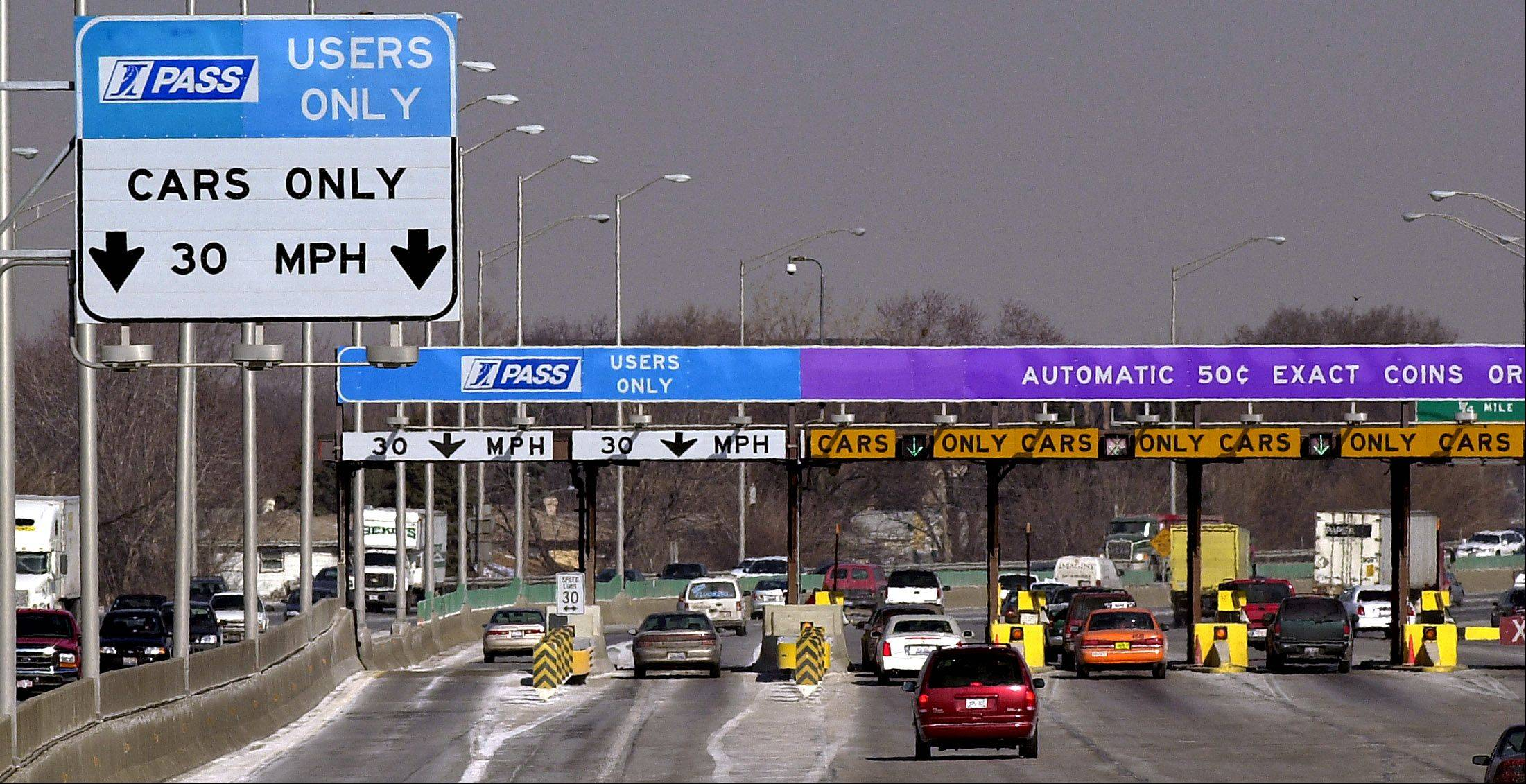 The Touhy Toll Plaza is doubling as a detour route for westbound I-90 drivers this construction season.