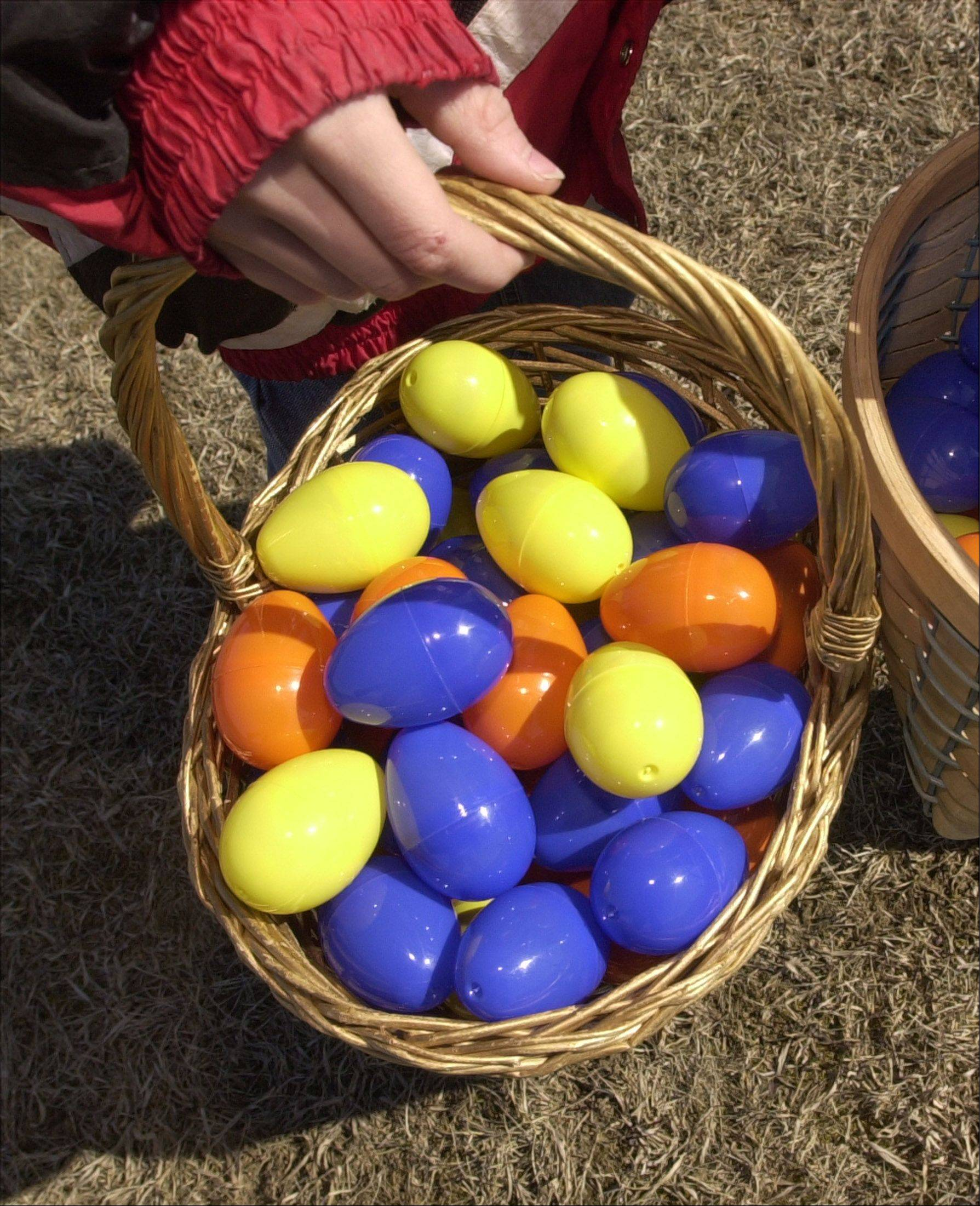 Plenty of egg hunts are scheduled for this weekend in Lake County.