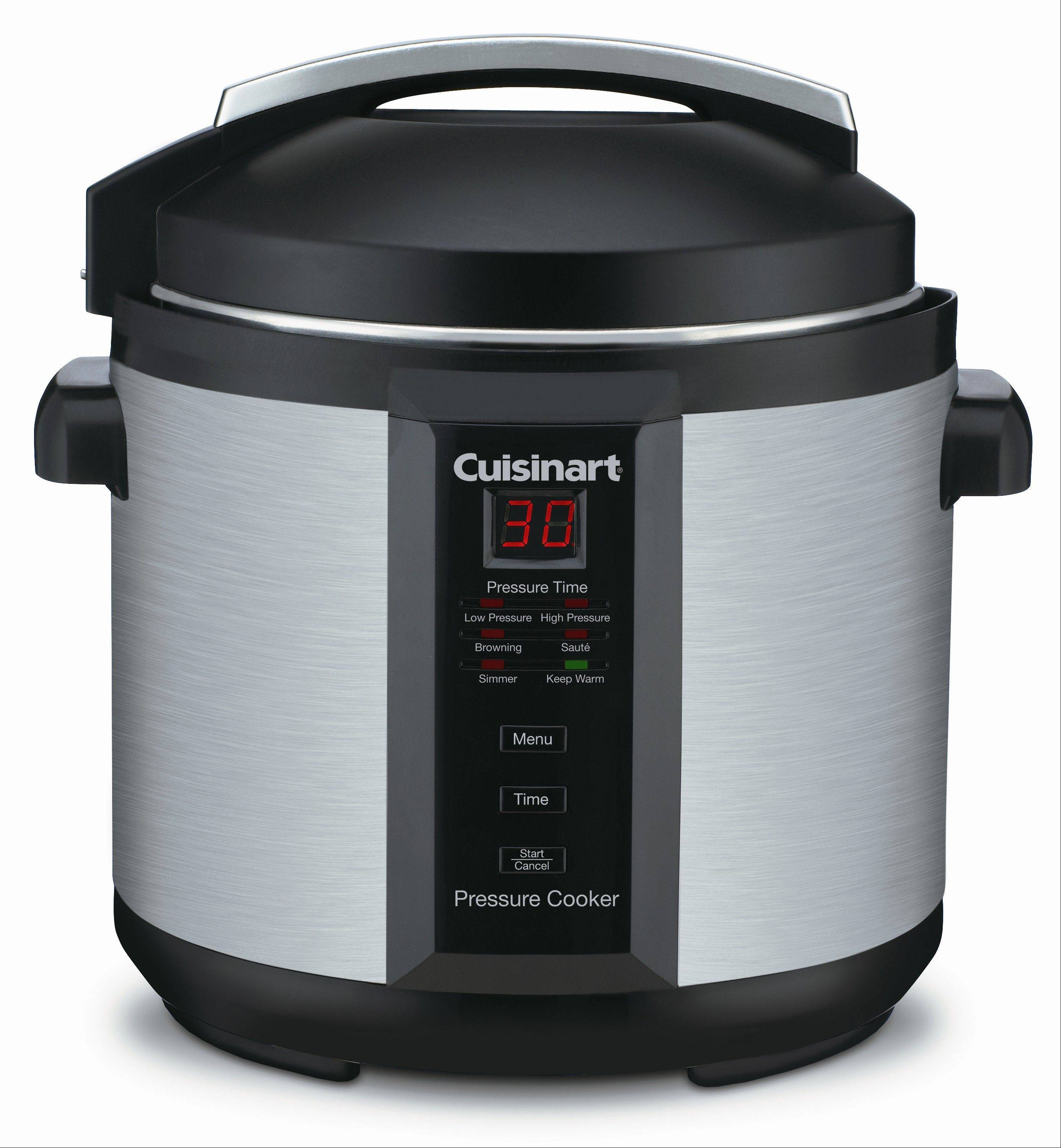 Pressure cookers fit into hectic, healthful lifestyles