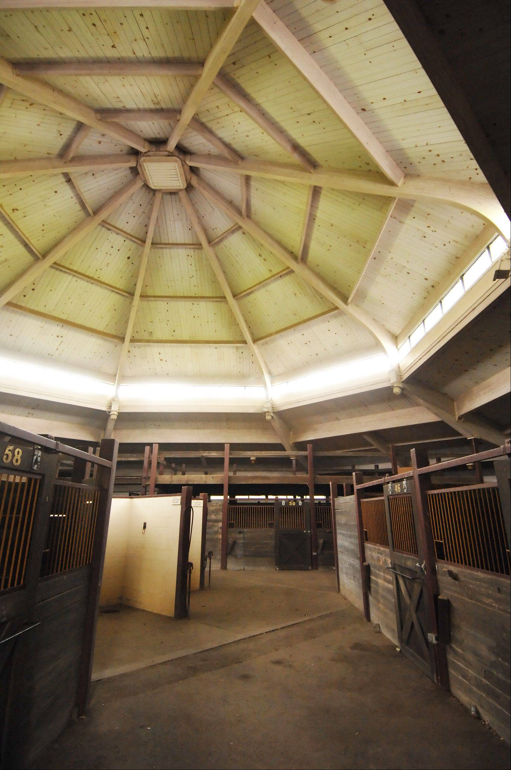 DuPage County Forest Preserve officials are debating whether areas like the show barn at St. James Farm near Warrenville will receive $2.7 million in upgrades.
