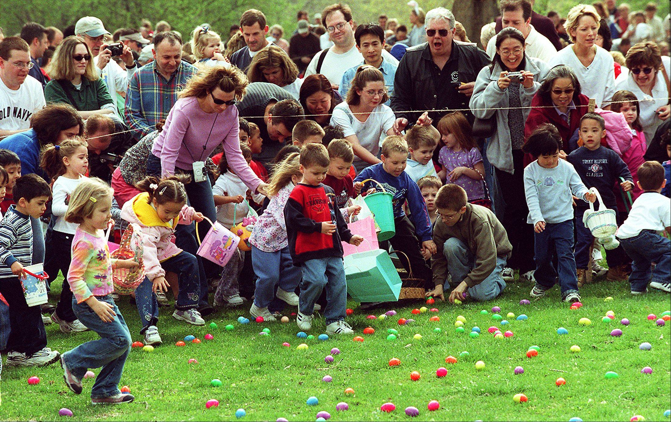 Don't look now, but the Easter egg hunting season already is upon us.