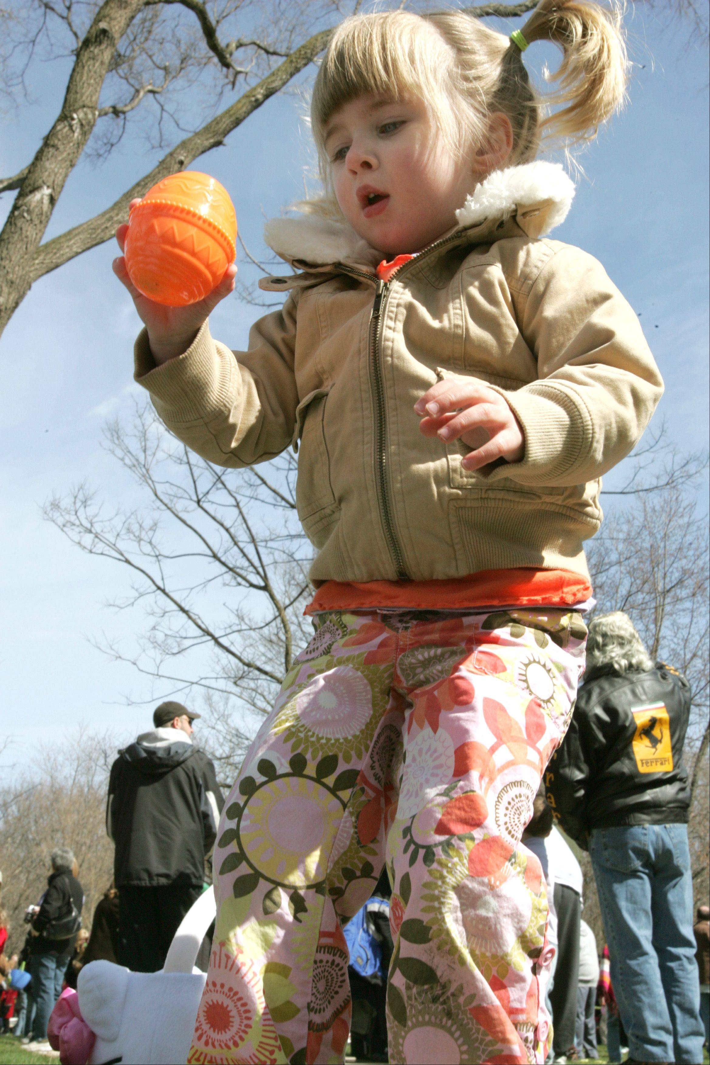 Kids of all ages -- and even some adults -- soon will have a chance to search for some colorful eggs in towns throughout DuPage County.