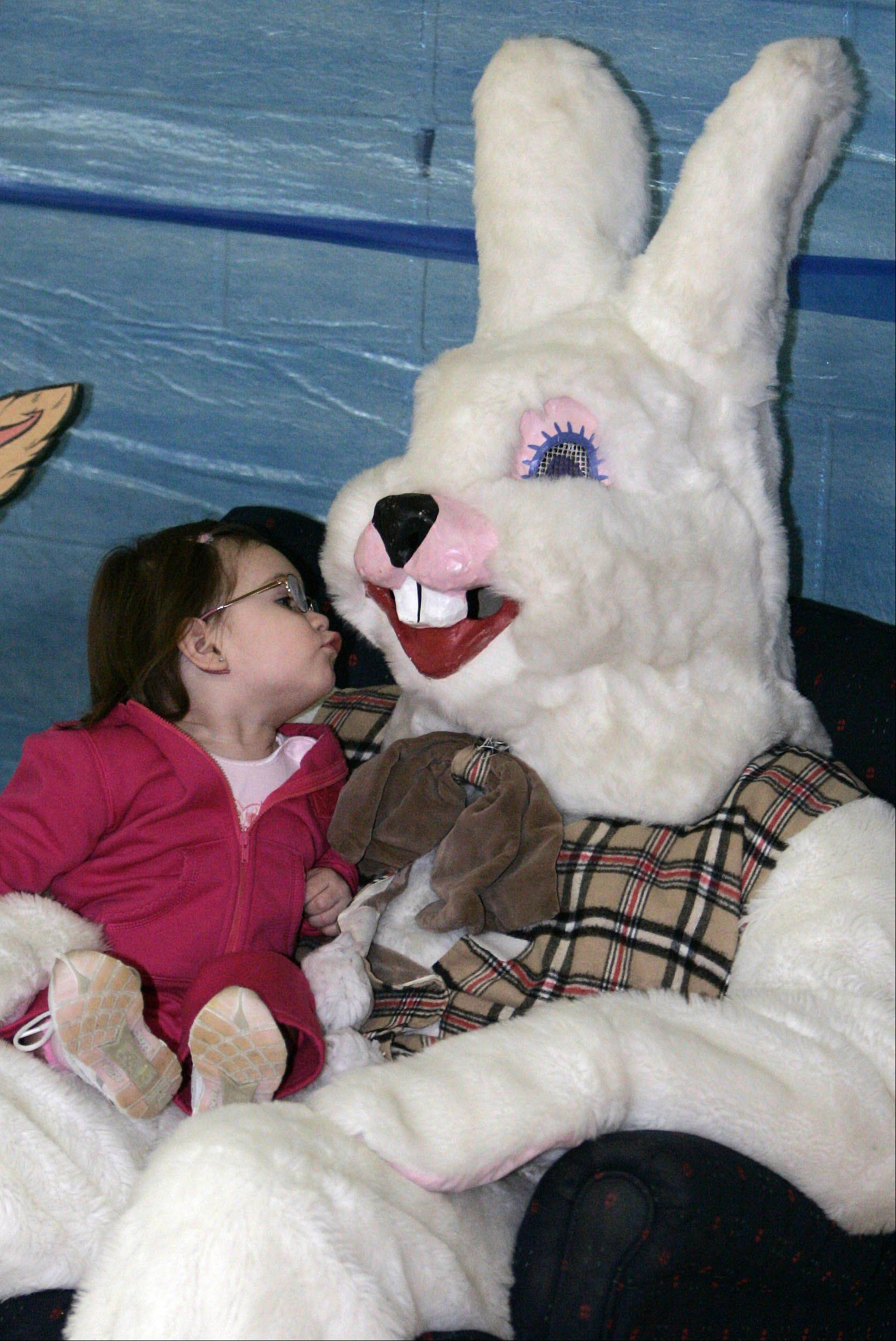 The Easter bunny is a busy guy this time of year, but he almost always can make time for a quick chat.