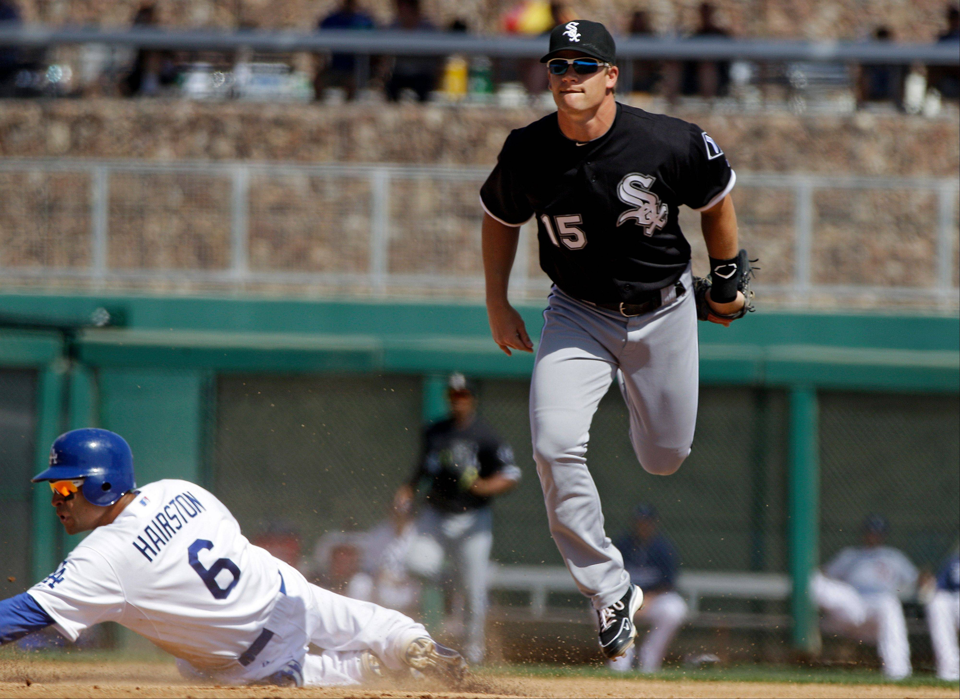 White Sox fans can follow Gordon Beckham on Twitter @gordonbeckham.