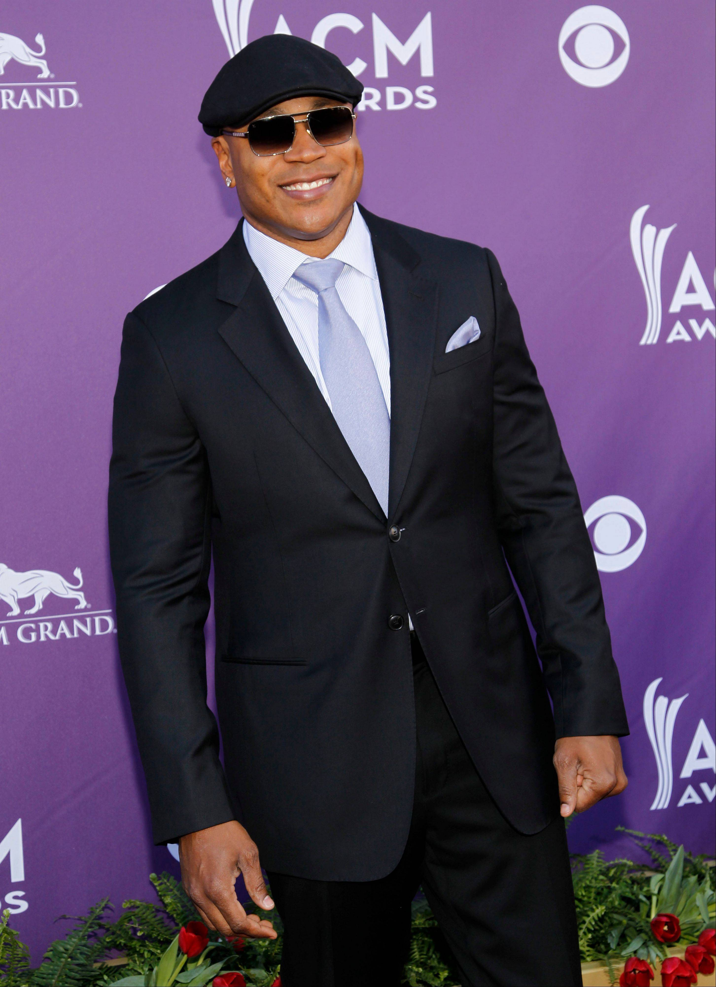 """NCIS: LA"" star LL Cool J trades in hosting duties for a seat in the audience for this awards show."