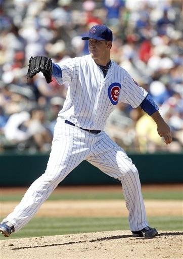 Paul Maholm's day covered 4 2-3 innings. He gave up three hits, walked one and struck out six and lowered his spring ERA to 1.84.The Cubs tied the Angels 3-3 in 10 innings.
