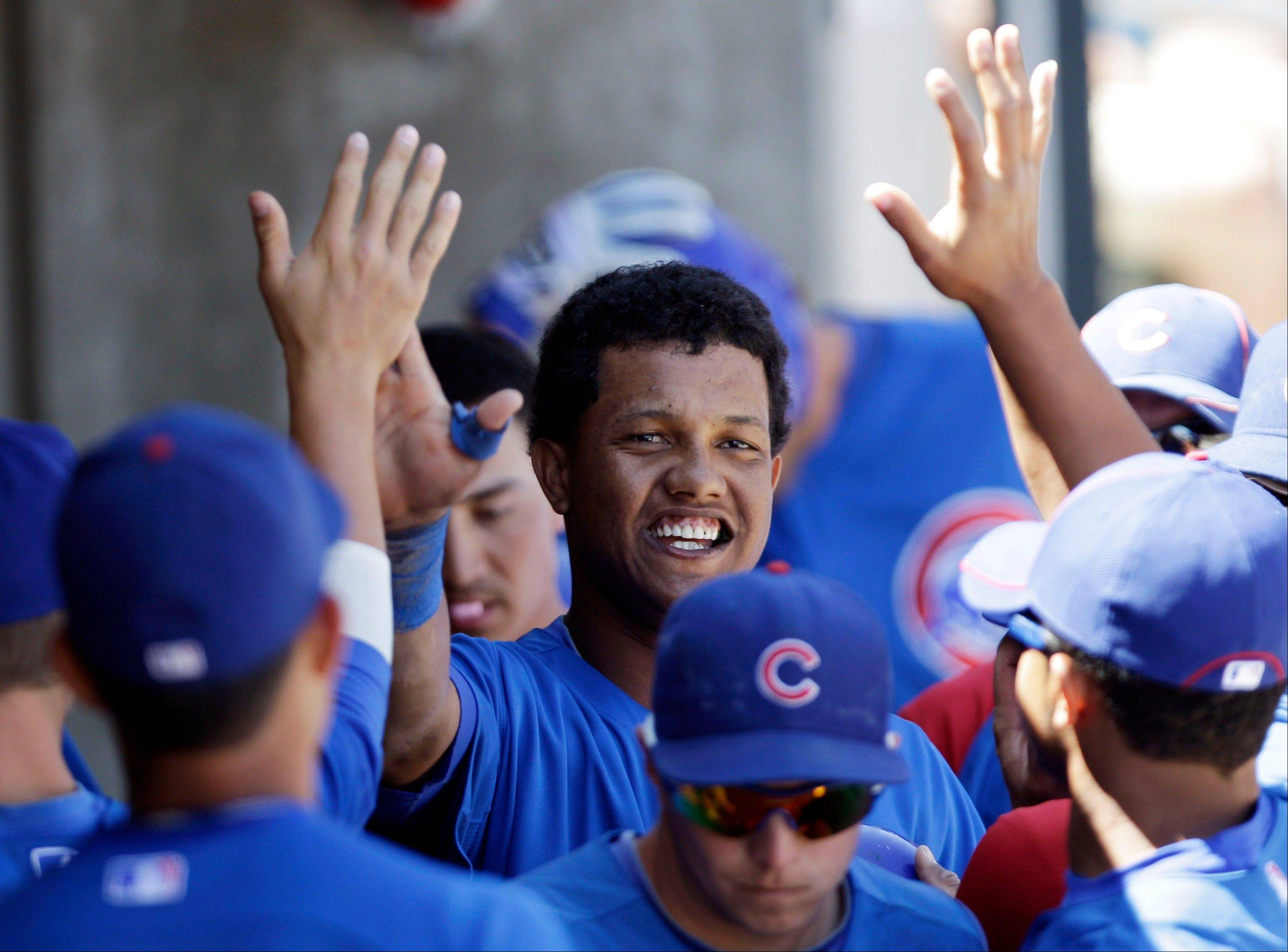 Are all of Starlin Castro's troubles behind him? That's one of the questions facing the Cubs this season as they wait to see if Castro, center, can become a perennial all-star on the field and a good representative off the field.
