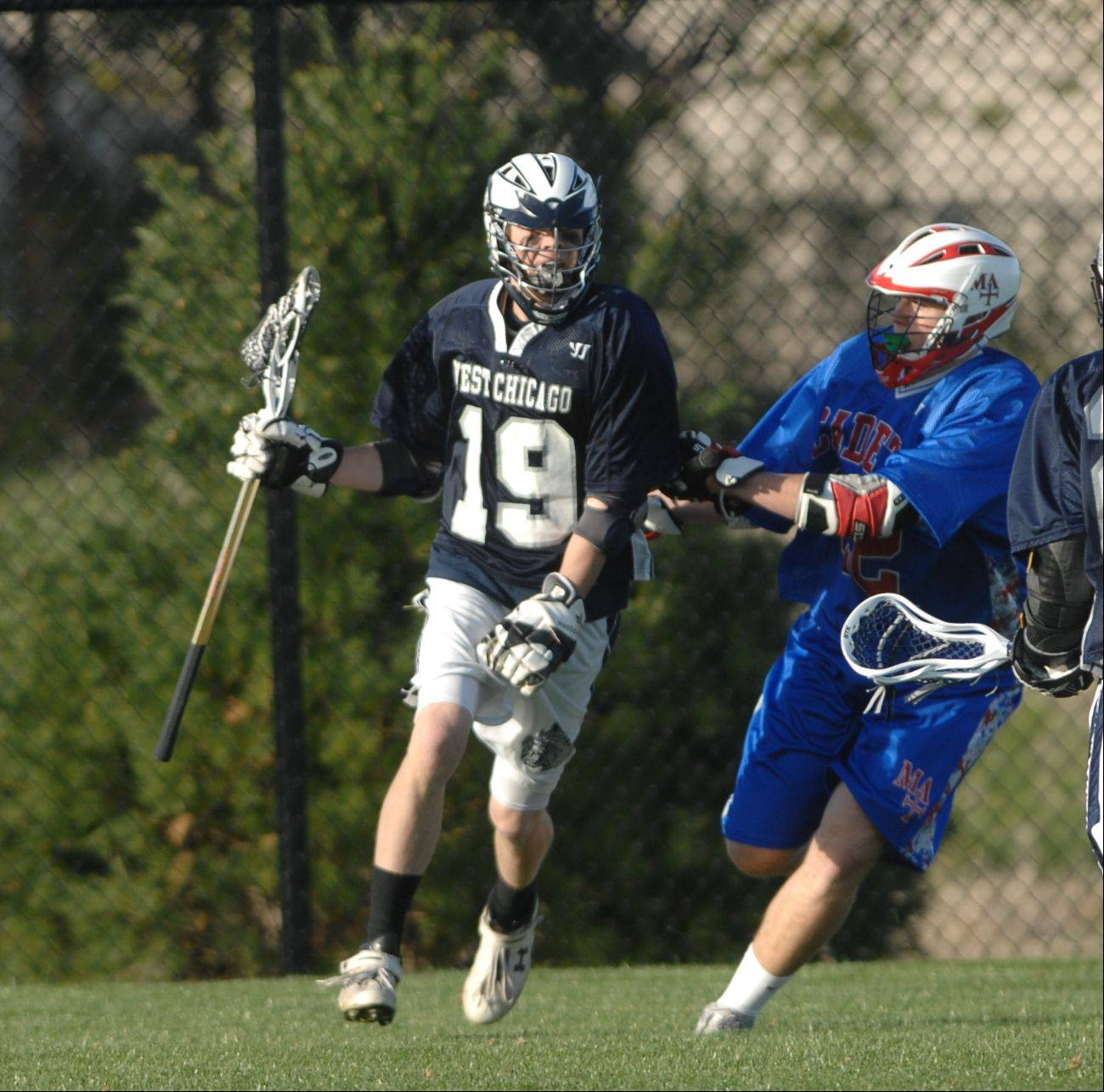 Marmion Academy hosts West Chicago Wednesday for boys lacrosse.