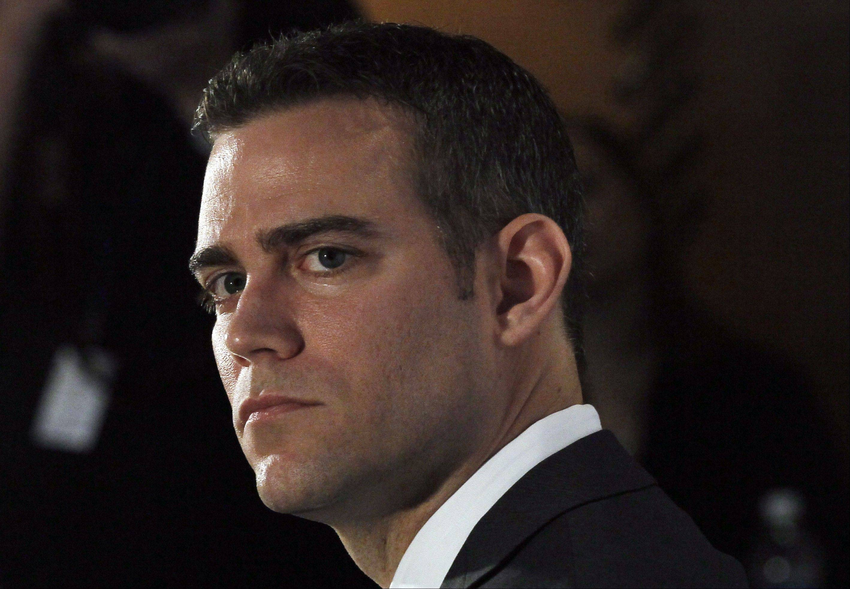 Theo Epstein, the president for baseball operations with the Chicago Cubs, isn't giving much credence to projections that the Cubs will win only 66 games this season.