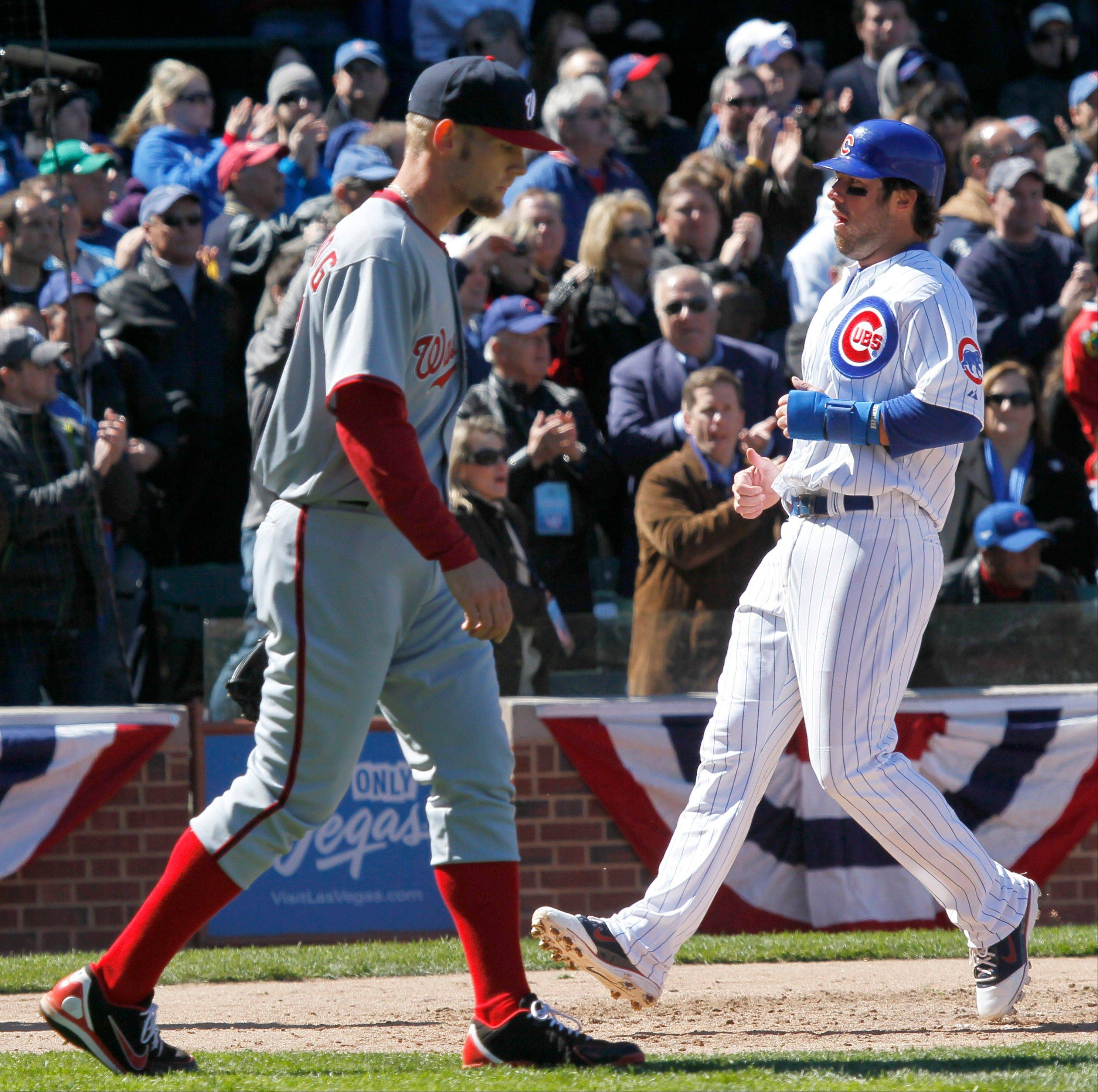 Images: Cubs' home opener