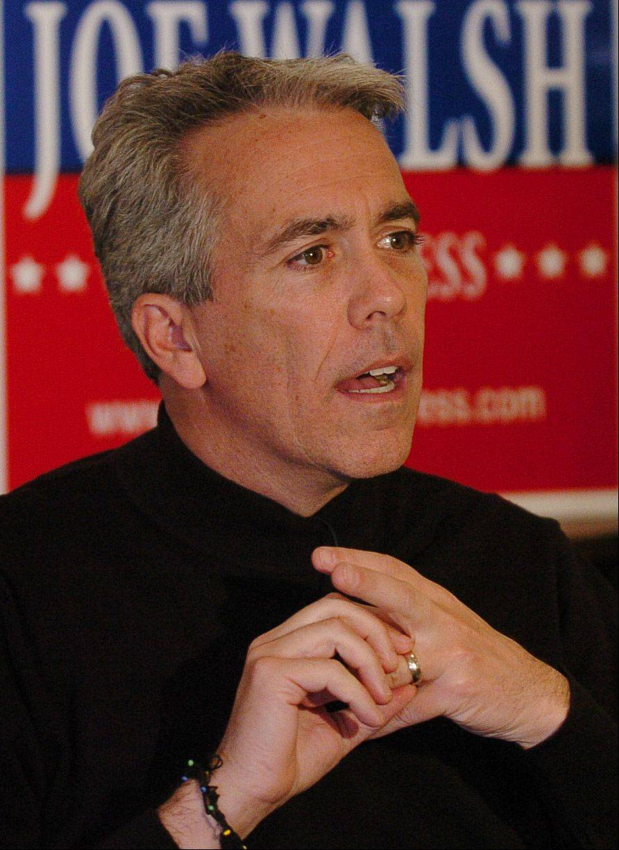 This Joe Walsh picture appeared on the front page March 25 and attracted angry comments from som readers that it was deliberately chosen to make him look bad.
