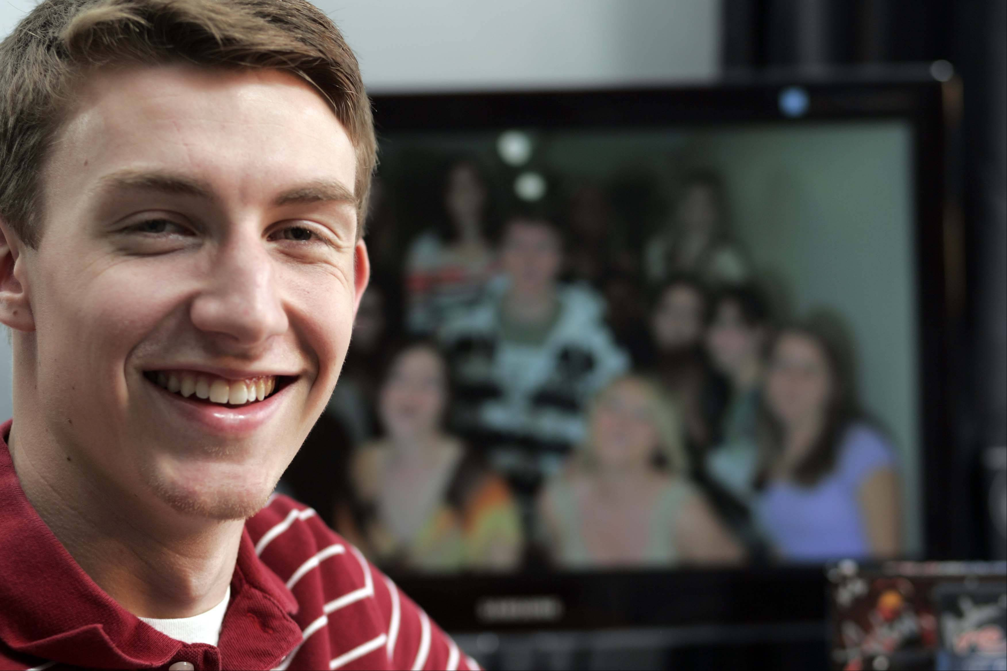 "North Central College senior Nick Penev, of Crystal Lake, was unanimously selected by Texas-based Rooster Teeth Productions as the winner of the ""Red vs. Blue"" season 9 music video contest among 260 entries from all over the country."