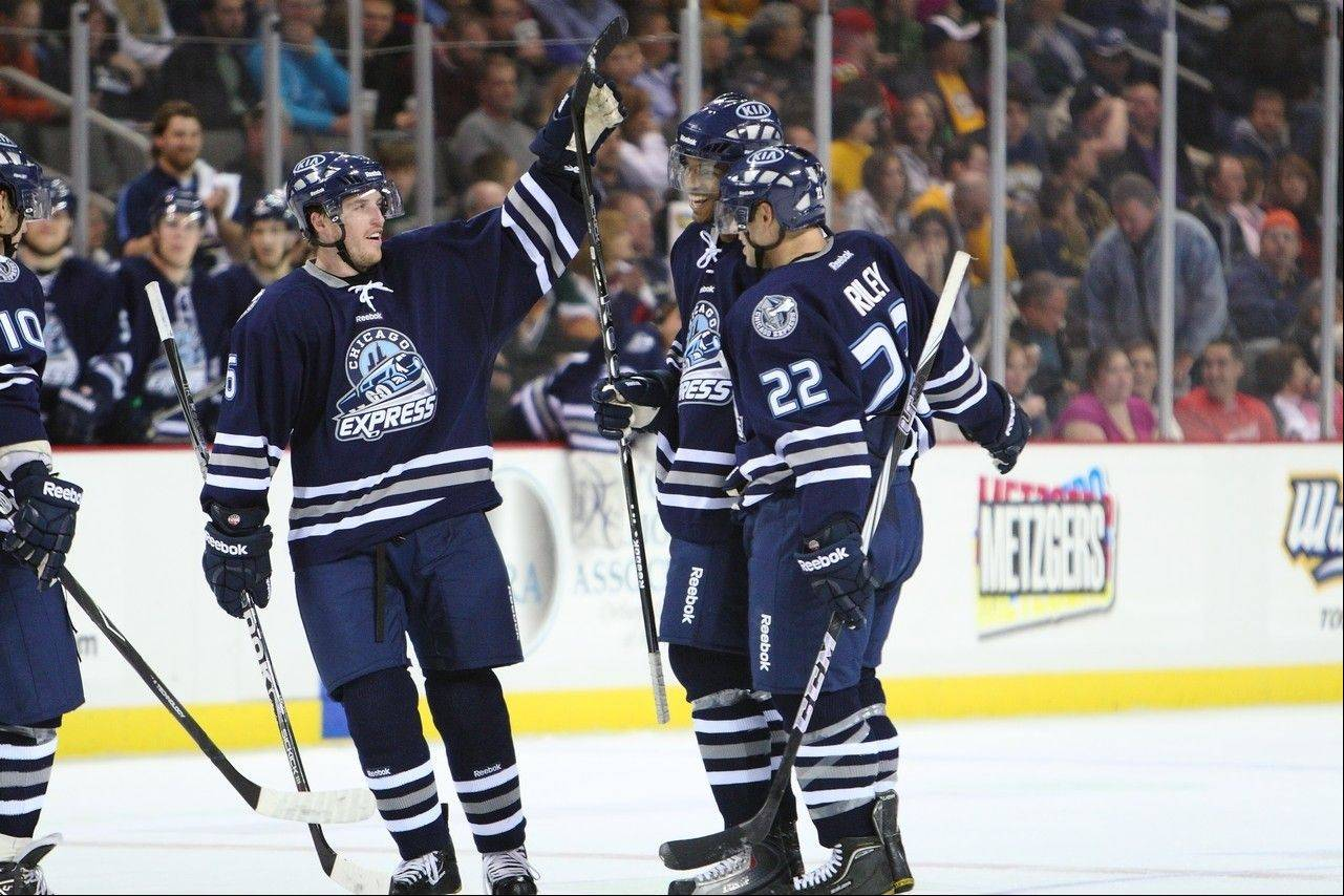 The Chicago Express of the ECHL, which played its games at Sears Centre Arena, has ceased operations after one season, team officials announced Friday.
