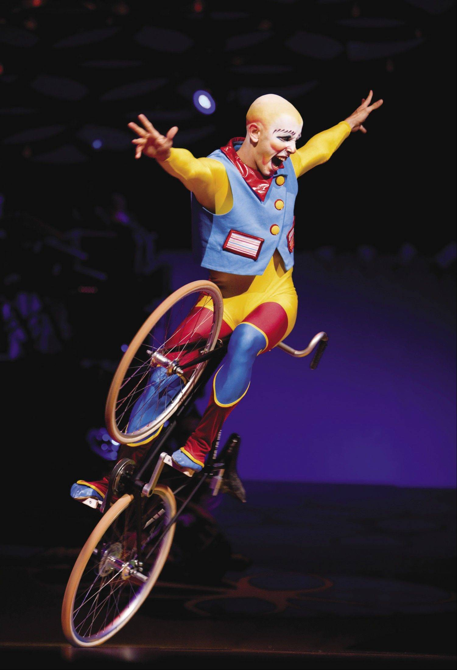 Cirque du Soleil's Saltimbanco tour was a popular non-sports show that has visited the Sears Centre.