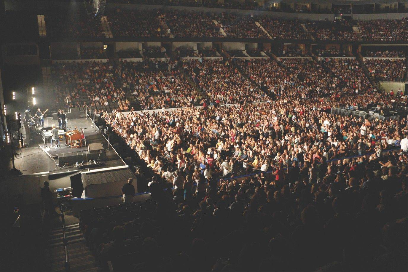 The 11,000-seat Sears Centre in Hoffman Estates had its best year in 2011 hosting concerts, sporting events and family entertainment.