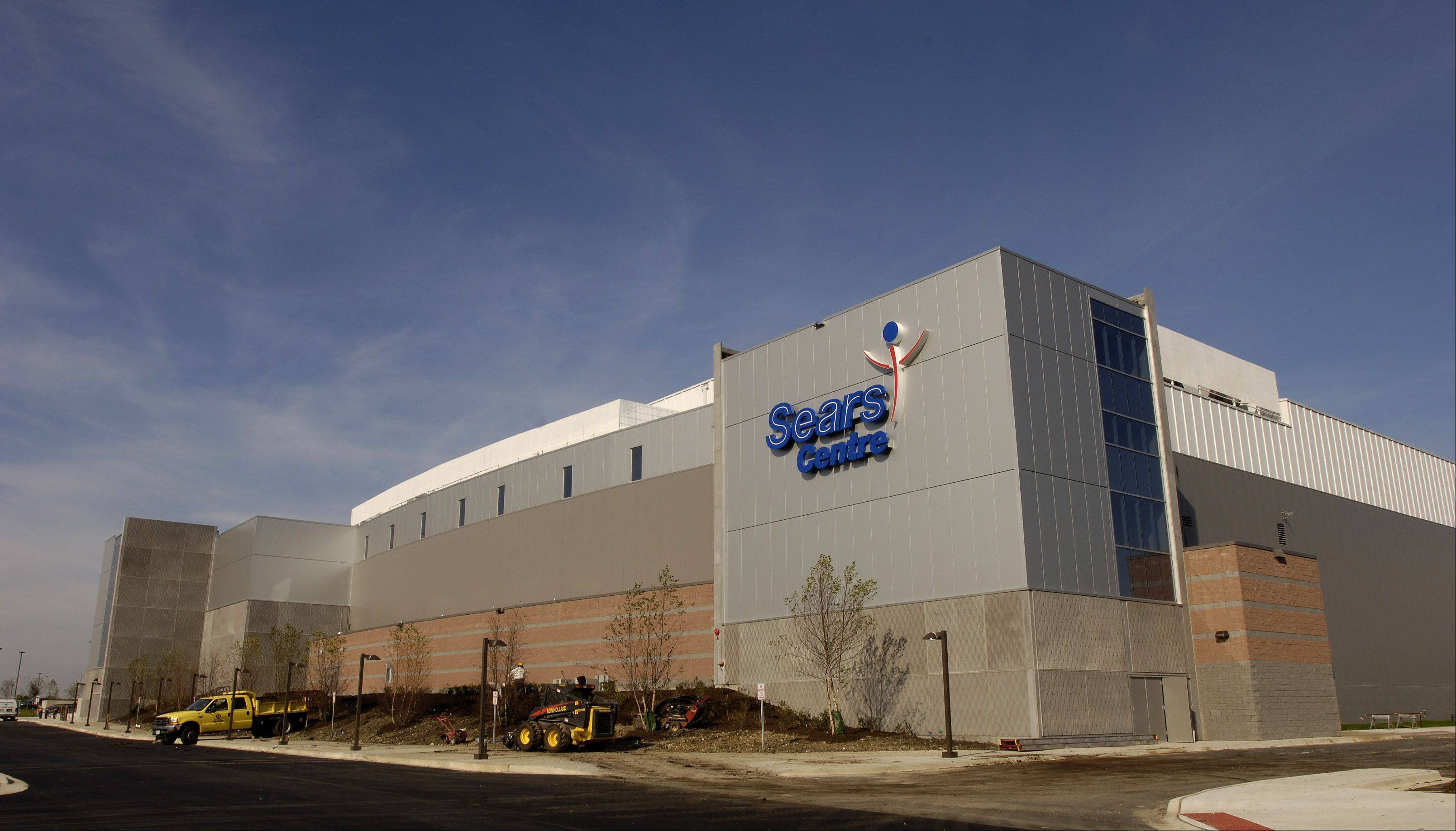 The Sears Centre in Hoffman Estates is not expected to be jeopardized by the loss of the Chicago Express hockey team.